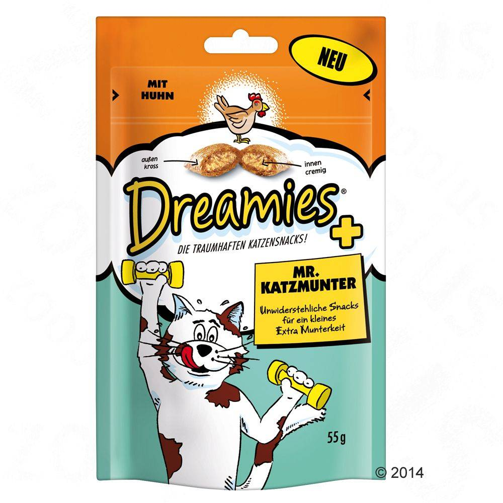 Dreamies Mr. Katzmunter - 330 g (6 x 55 g)