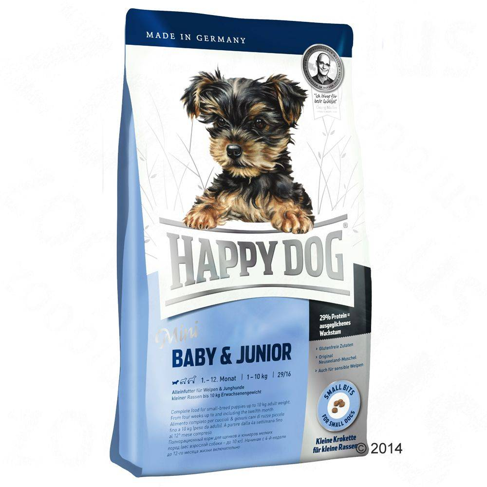 Happy Dog Supreme Young Happy Dog Supreme Mini Baby & Junior - säästöpakkaus: 2 x 4 kg