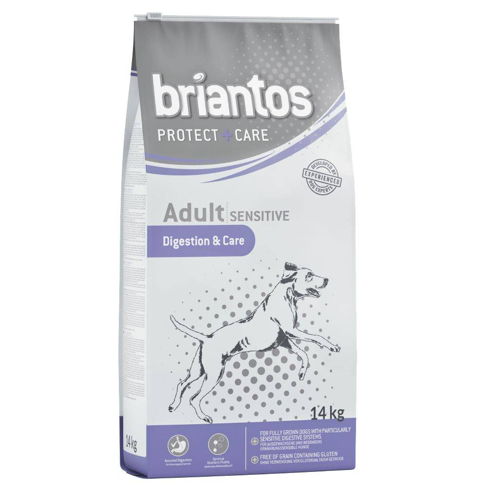 Briantos Protect + Care Adult Sensitive - Digestion & Care - 14 kg