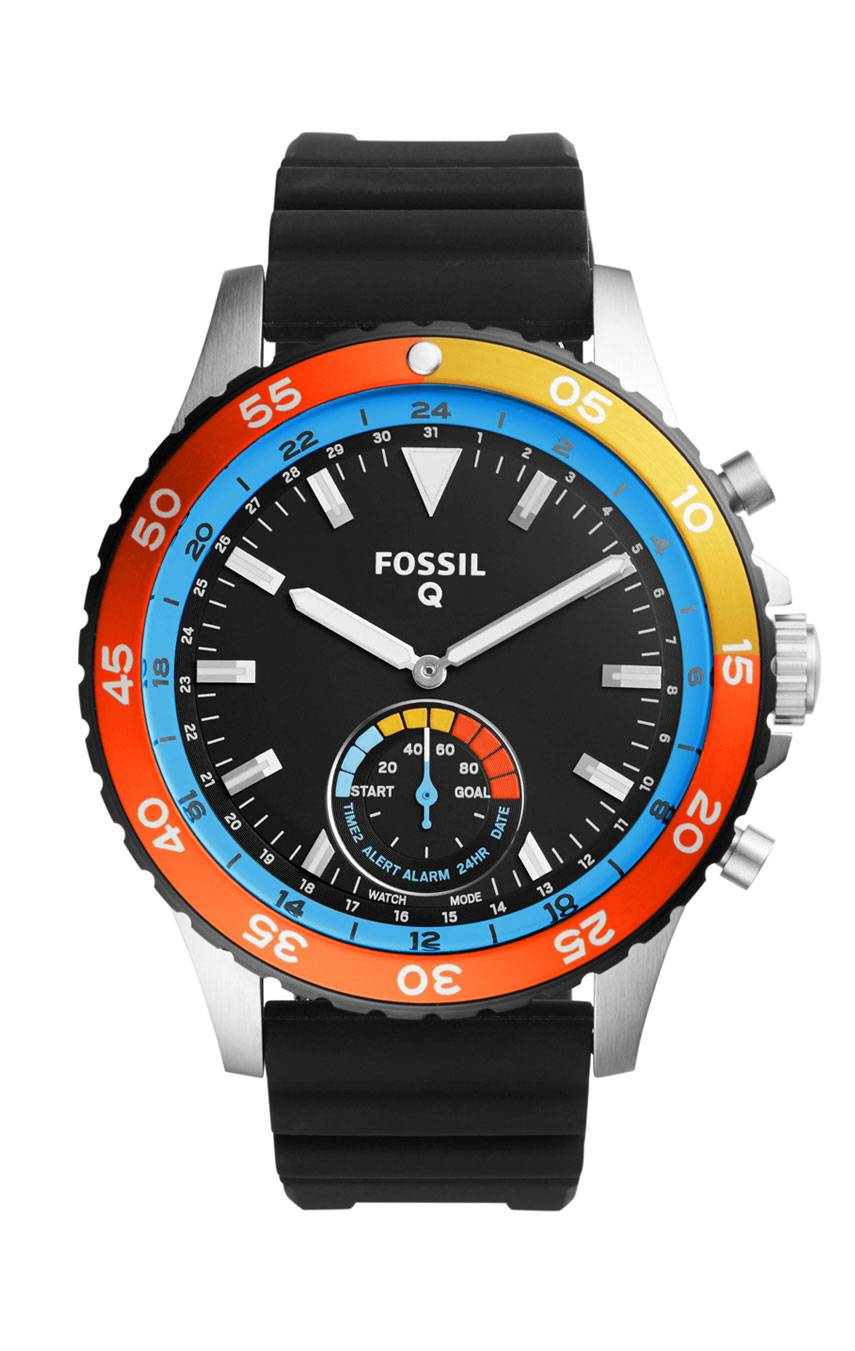 FOSSIL Q CREWMASTER HYBRID SMARTWATCH FTW1124