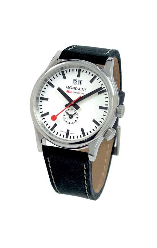 MONDAINE SPORT LINE SBB WITH TZ AND BIG DATE A687.30308.11SBB