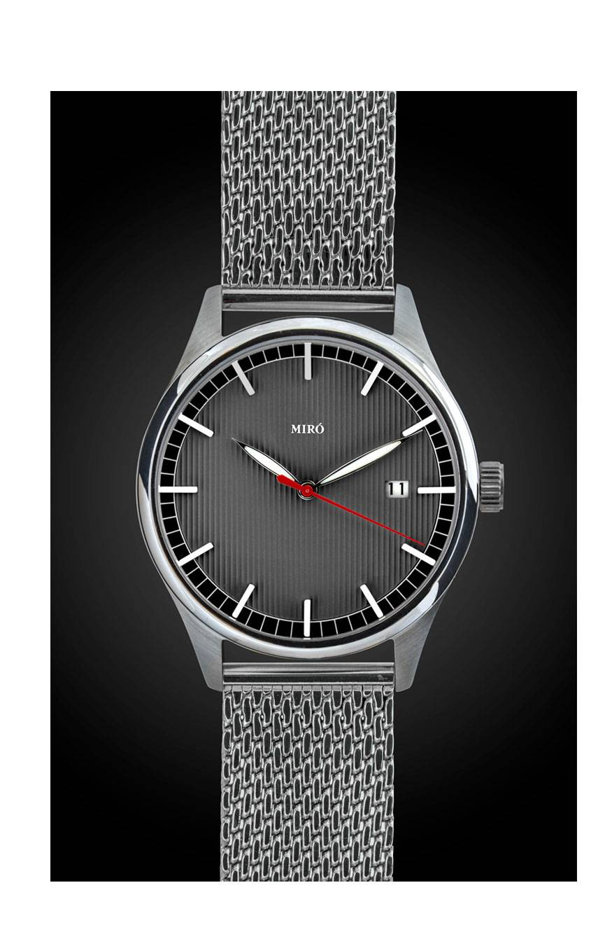 MIRÓ WATCHES EVERYDAY 40 – LEAD GREY MESH