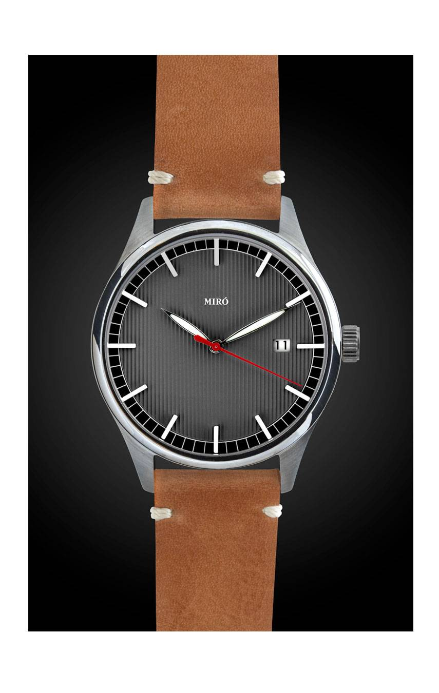 MIRÓ WATCHES EVERYDAY 40 – LEAD GREY
