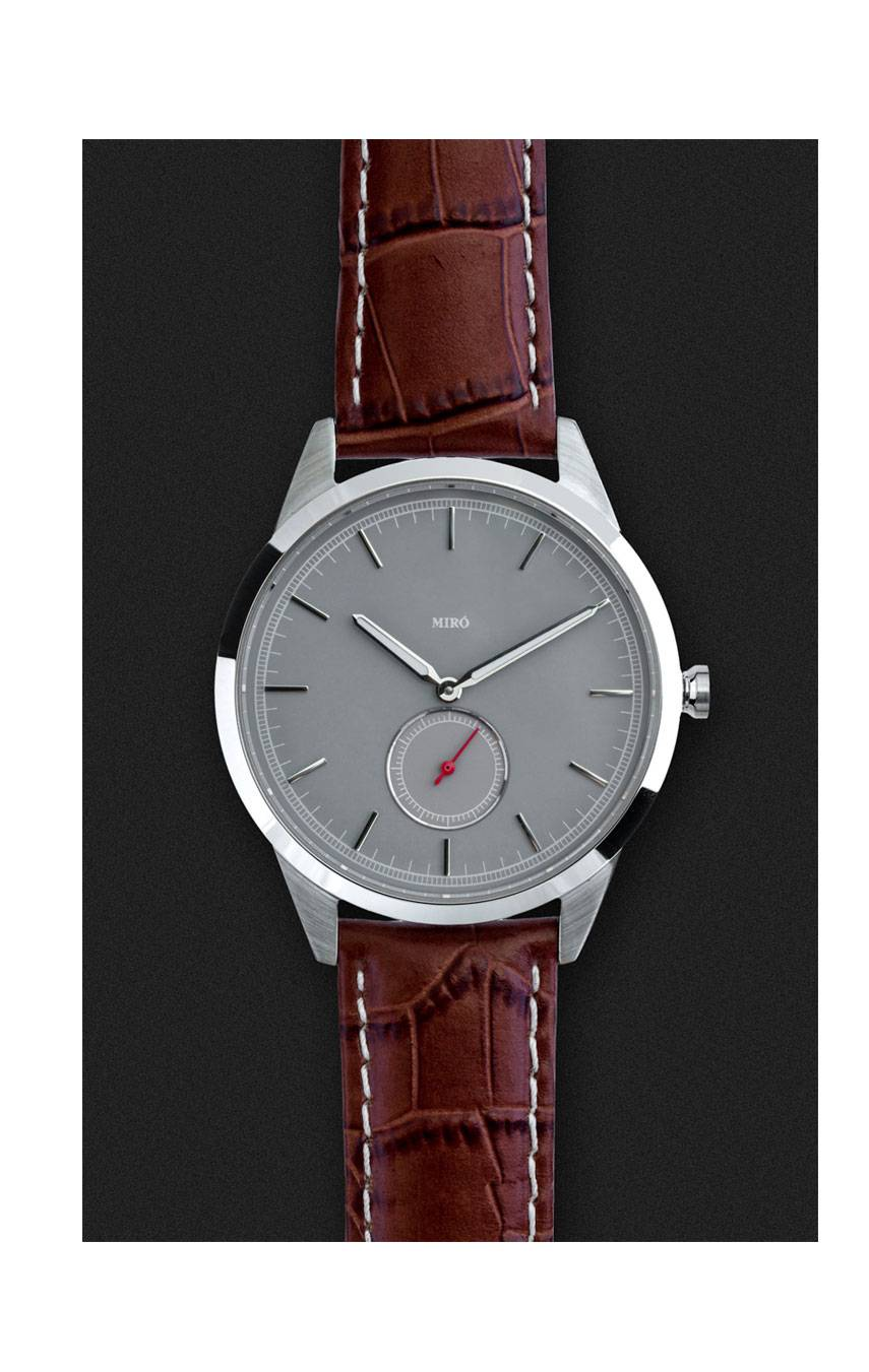 MIRÓ WATCHES OCCASION 38 SUB SECONDS – WOLF GREY