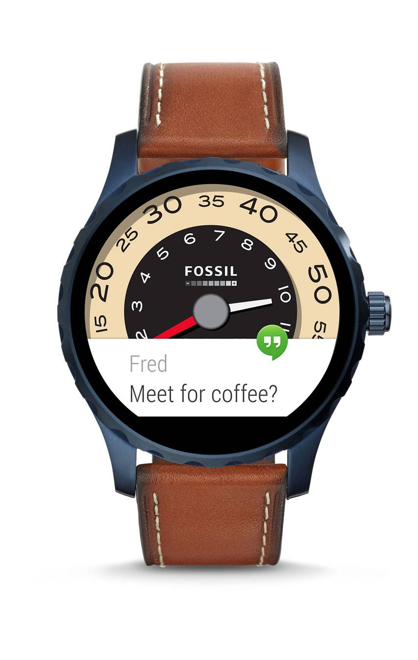 FOSSIL Q MARSHAL SMARTWATCH FTW2106