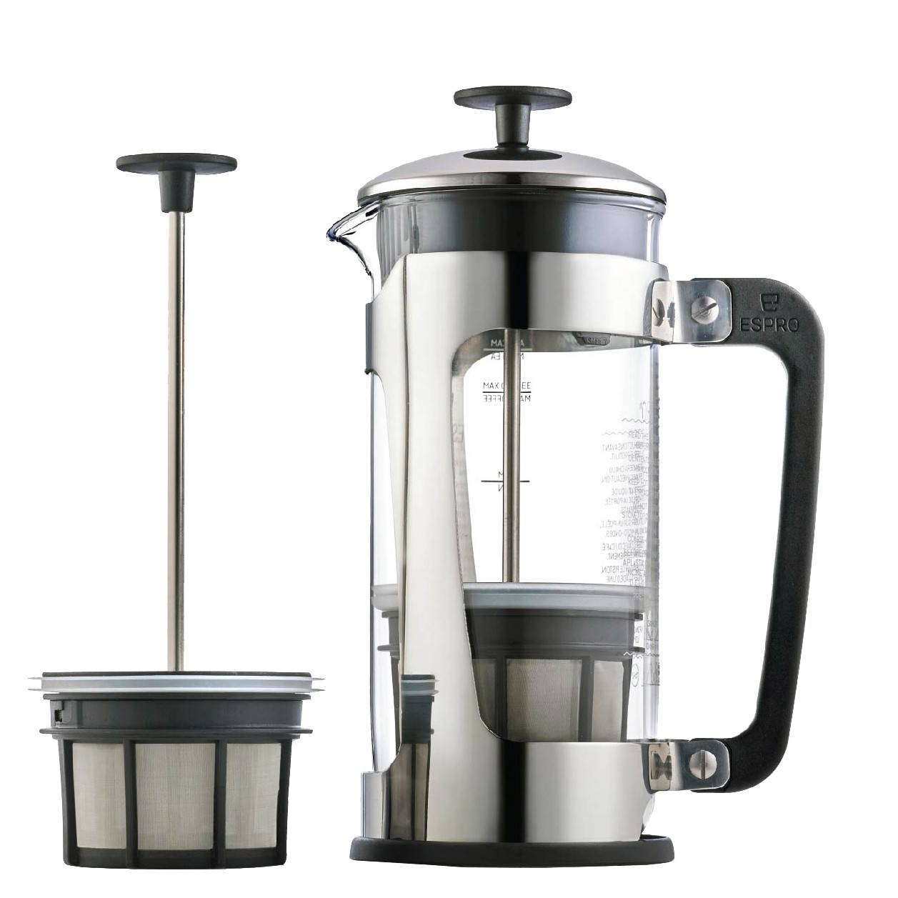 Espro P5 French Press 1218C pressopannu