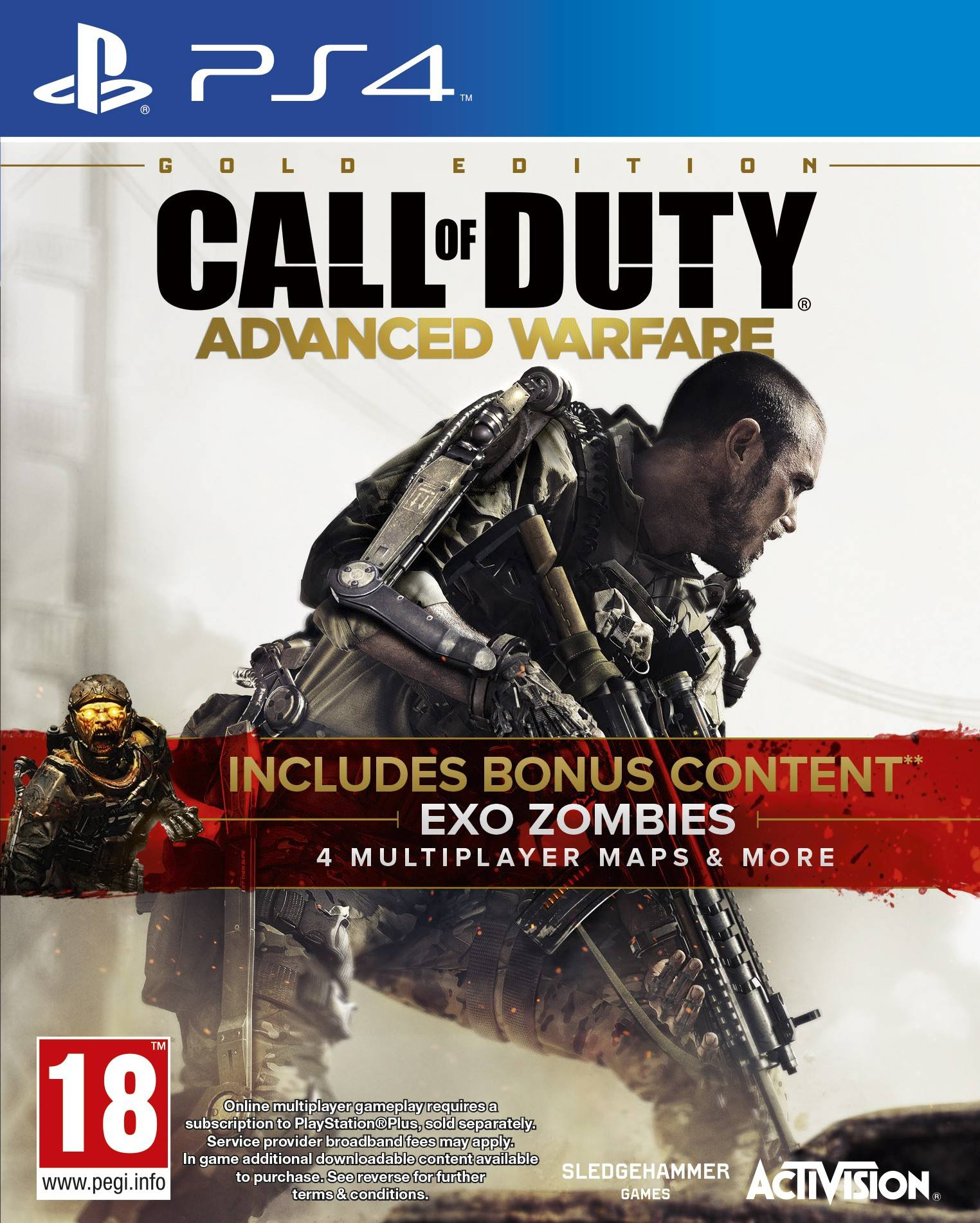 Activision Call of Duty: Advanced Warfare - Gold Edition (PS4)