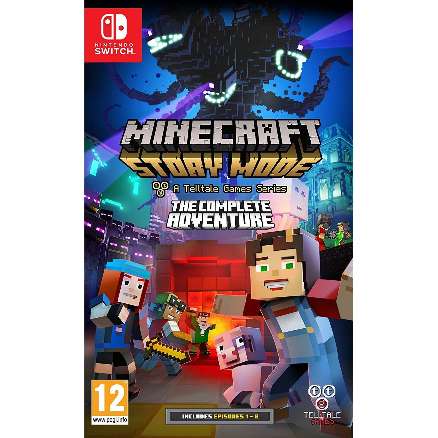 Wendros Minecraft: Story Mode - The Complete Adventure (Switch)