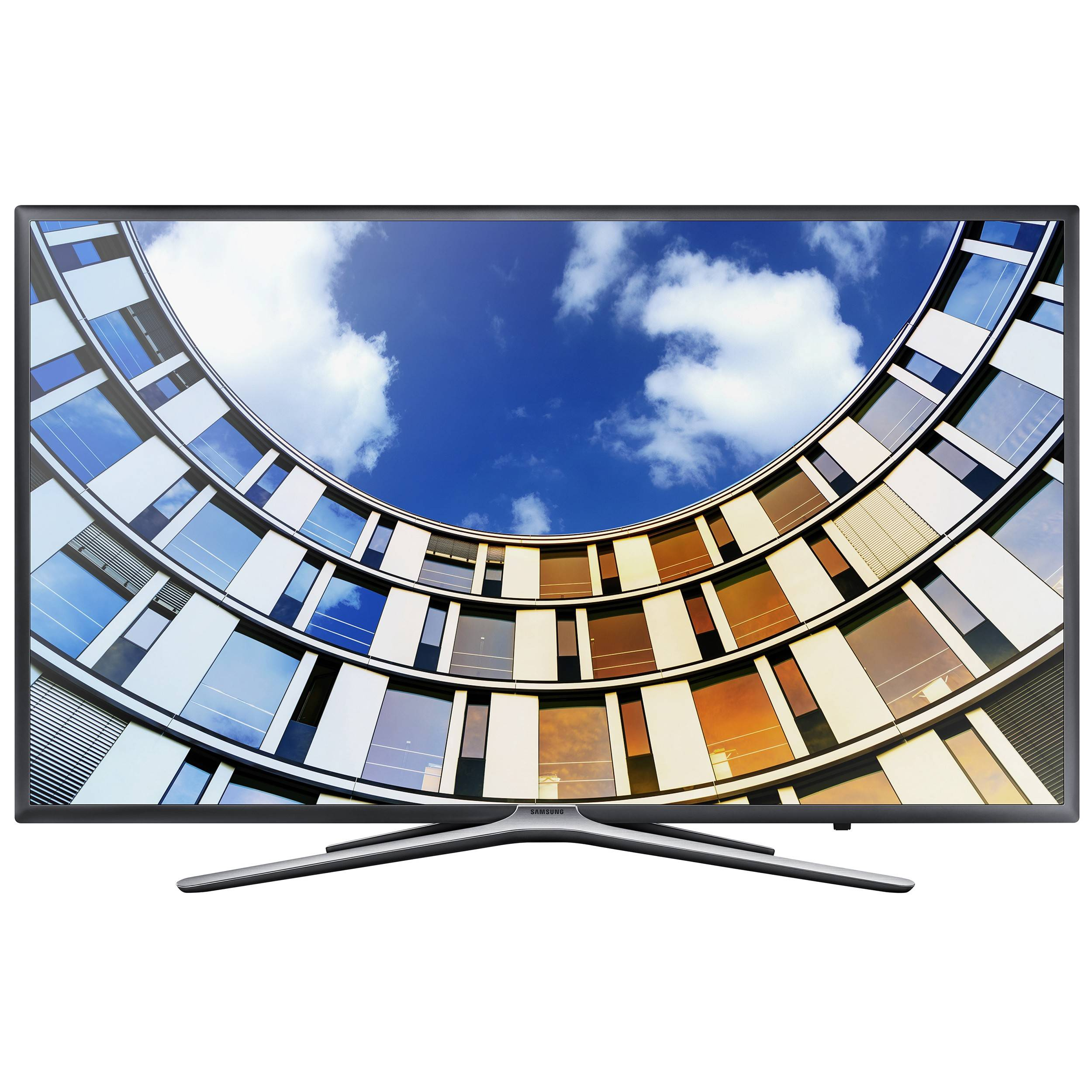 "Samsung 55"" Full HD Smart TV UE55M5505 (tumma titaani)"