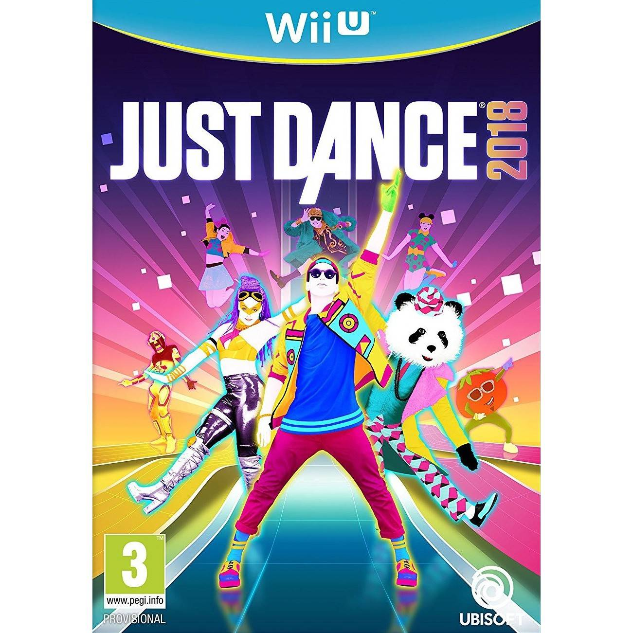 Ubisoft Just Dance 2018 (Wii U)