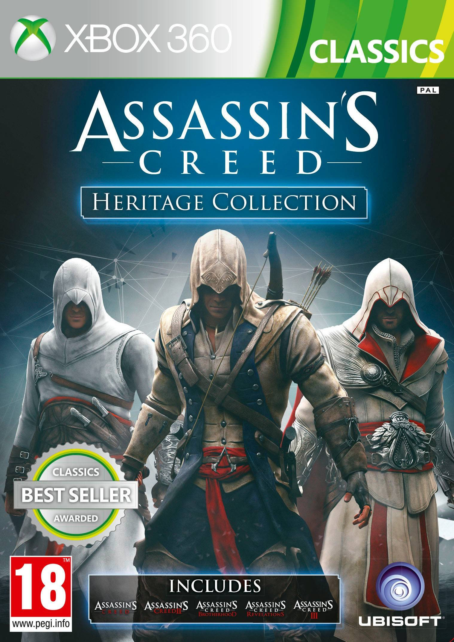 Ubisoft Assassins Creed Heritage Collection: Classics (X360)