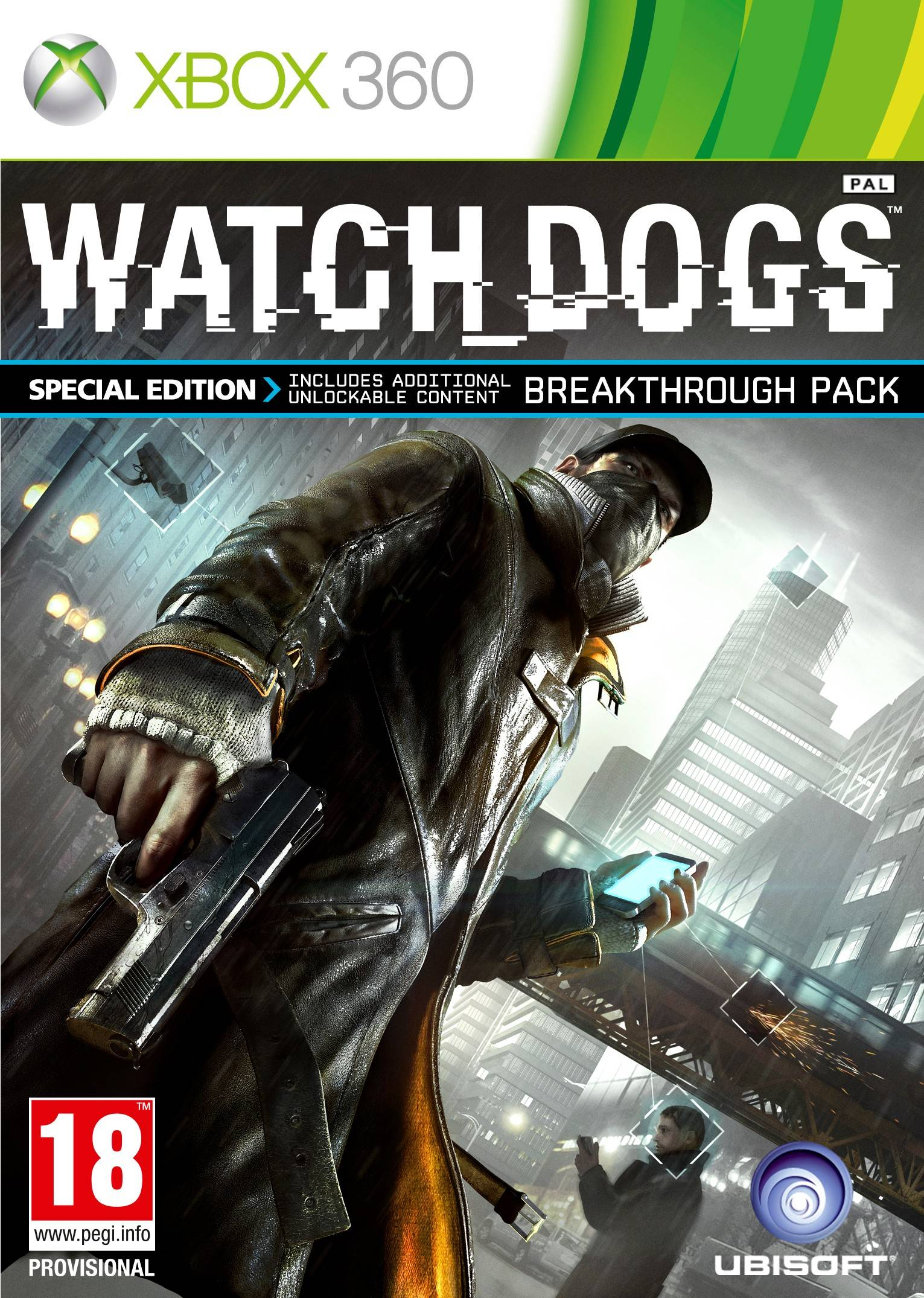 Ubisoft Watch Dogs: Special Edition (X360)