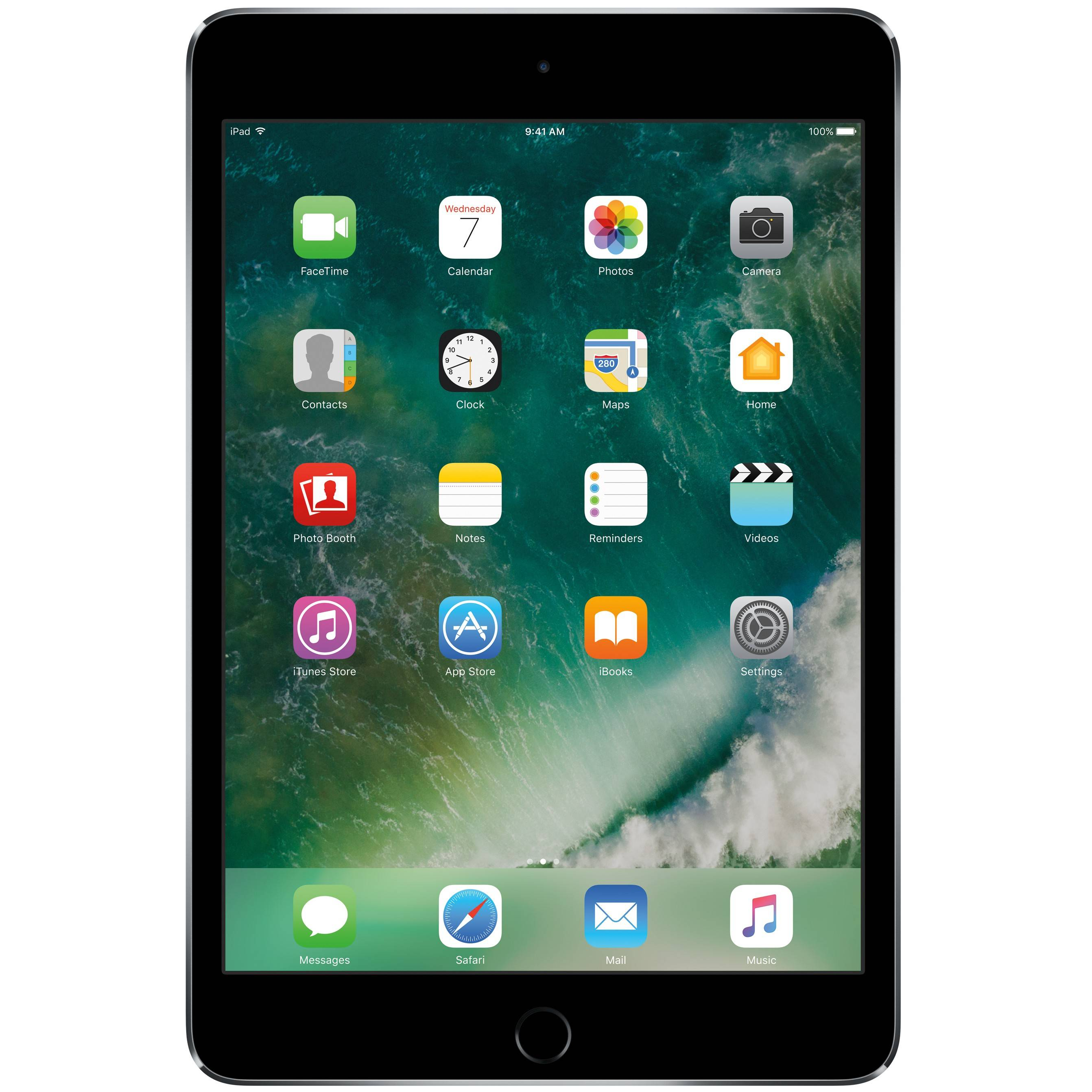 Apple iPad mini 4 128 GB WiFi (harmaa)