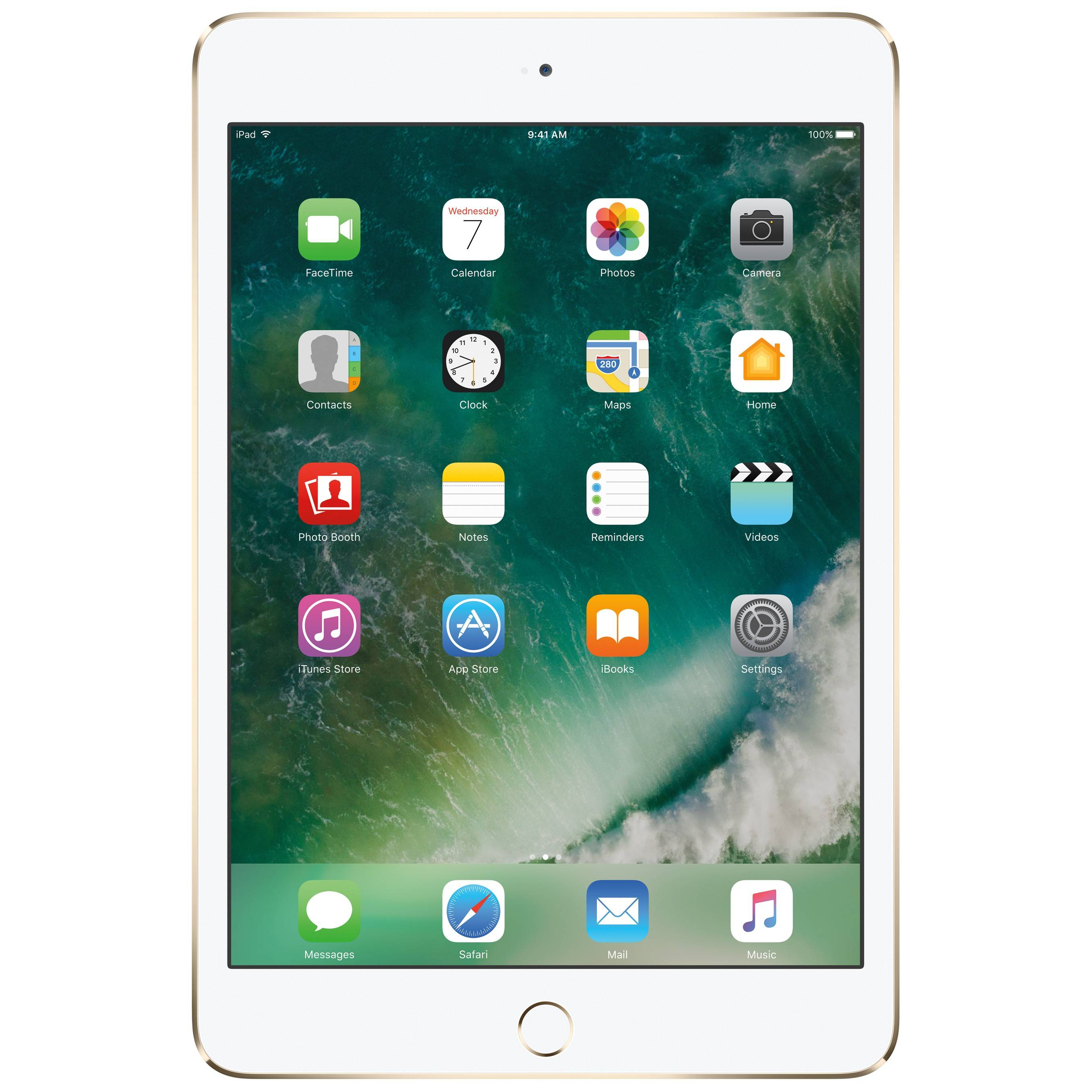 Apple iPad mini 4 128 GB WiFi (kulta)