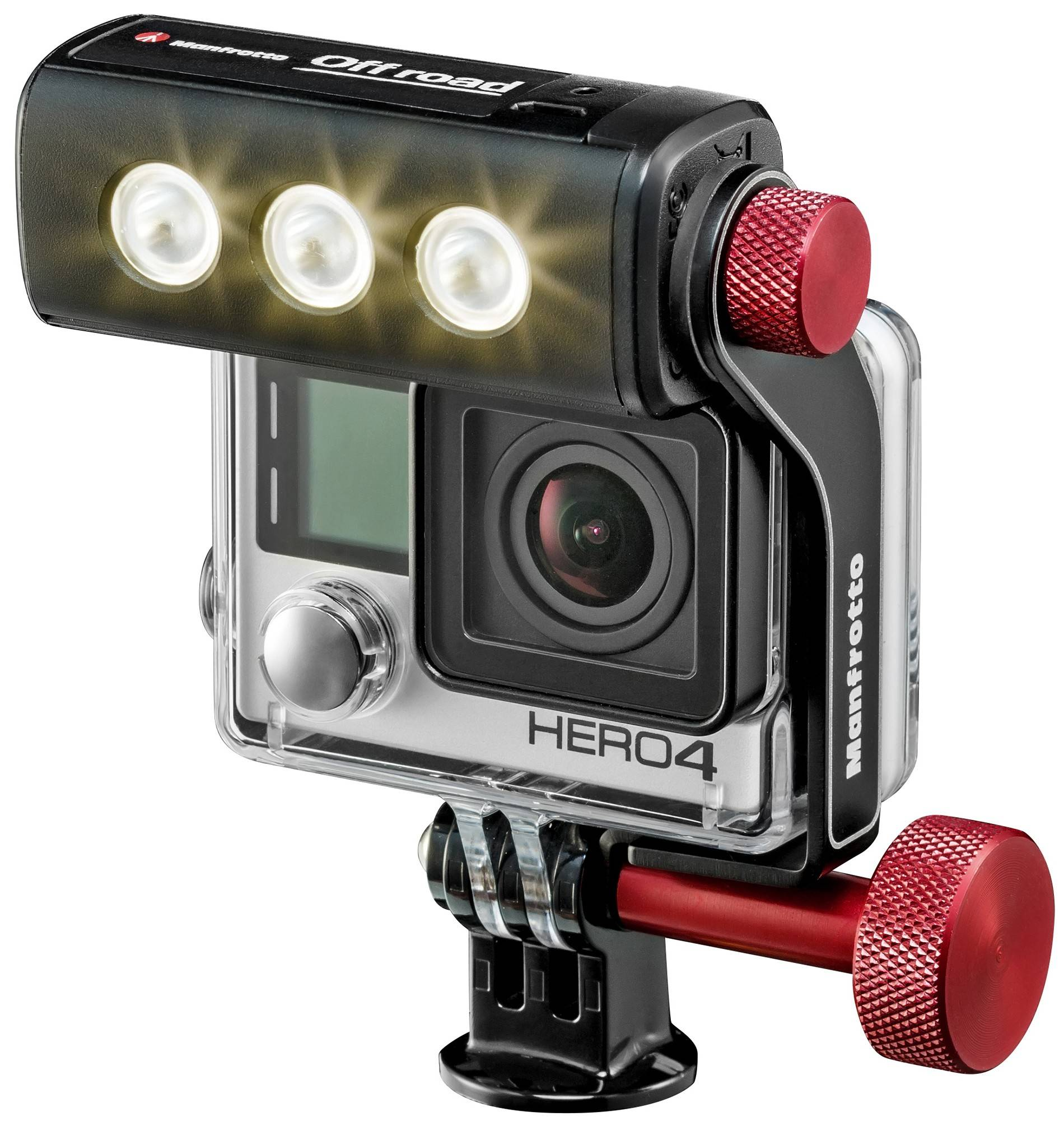 Manfrotto Off-Road ThrillLED GoPro valo