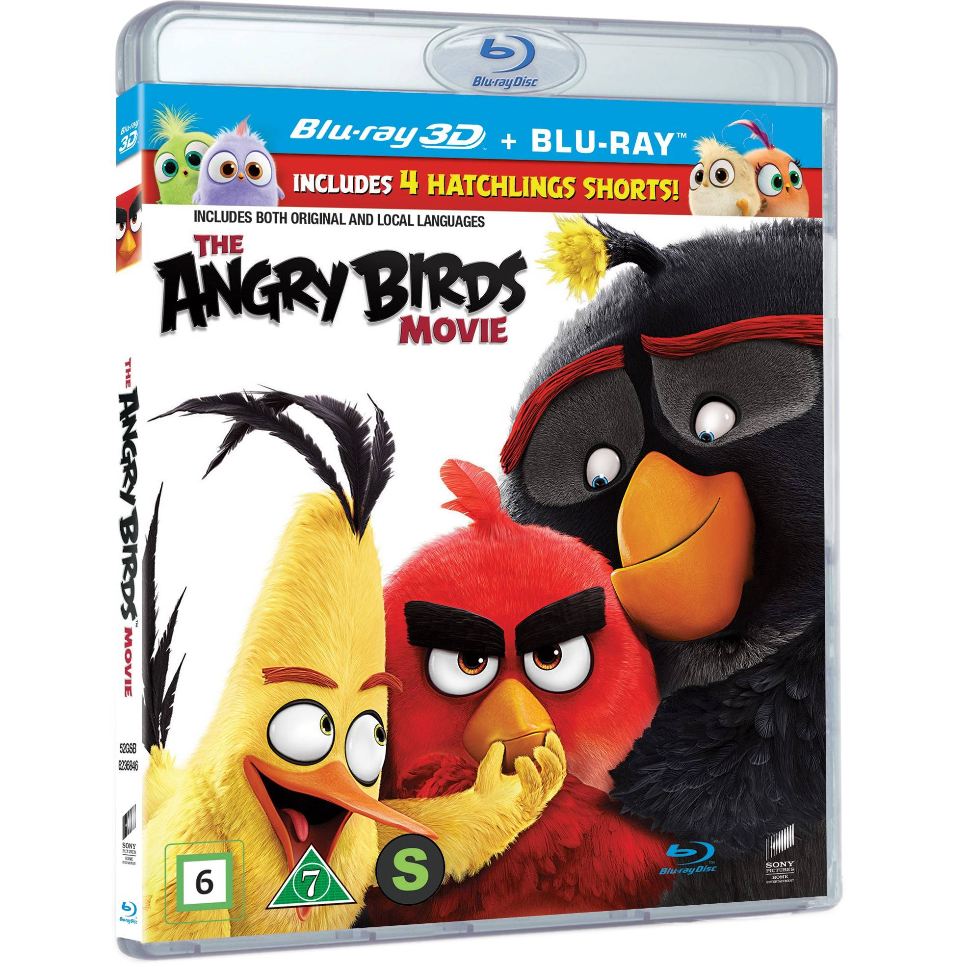 Sony The Angry Birds Movie (3D Blu-ray)