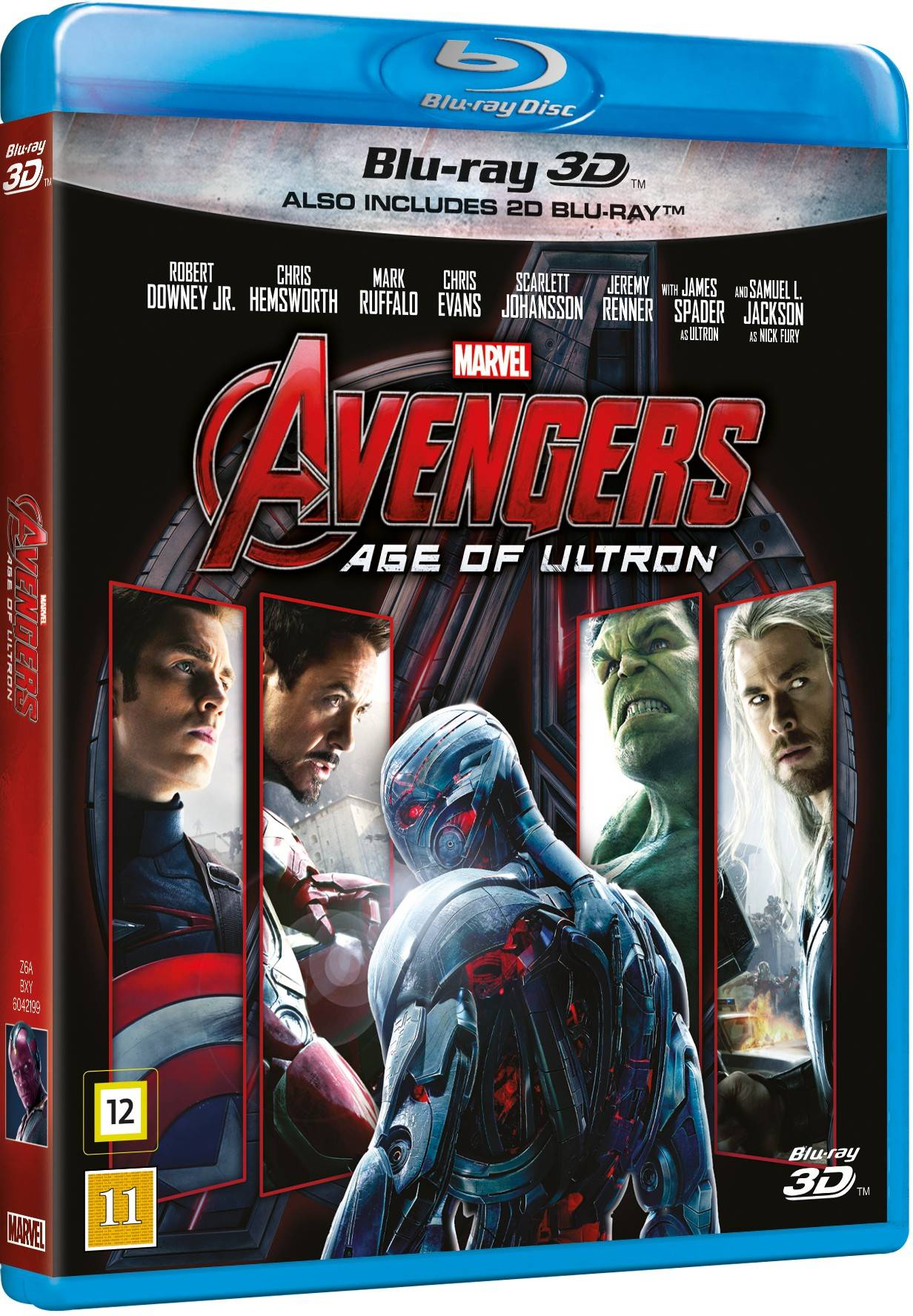 Disney Avengers: Age of Ultron 3D (Blu-ray)