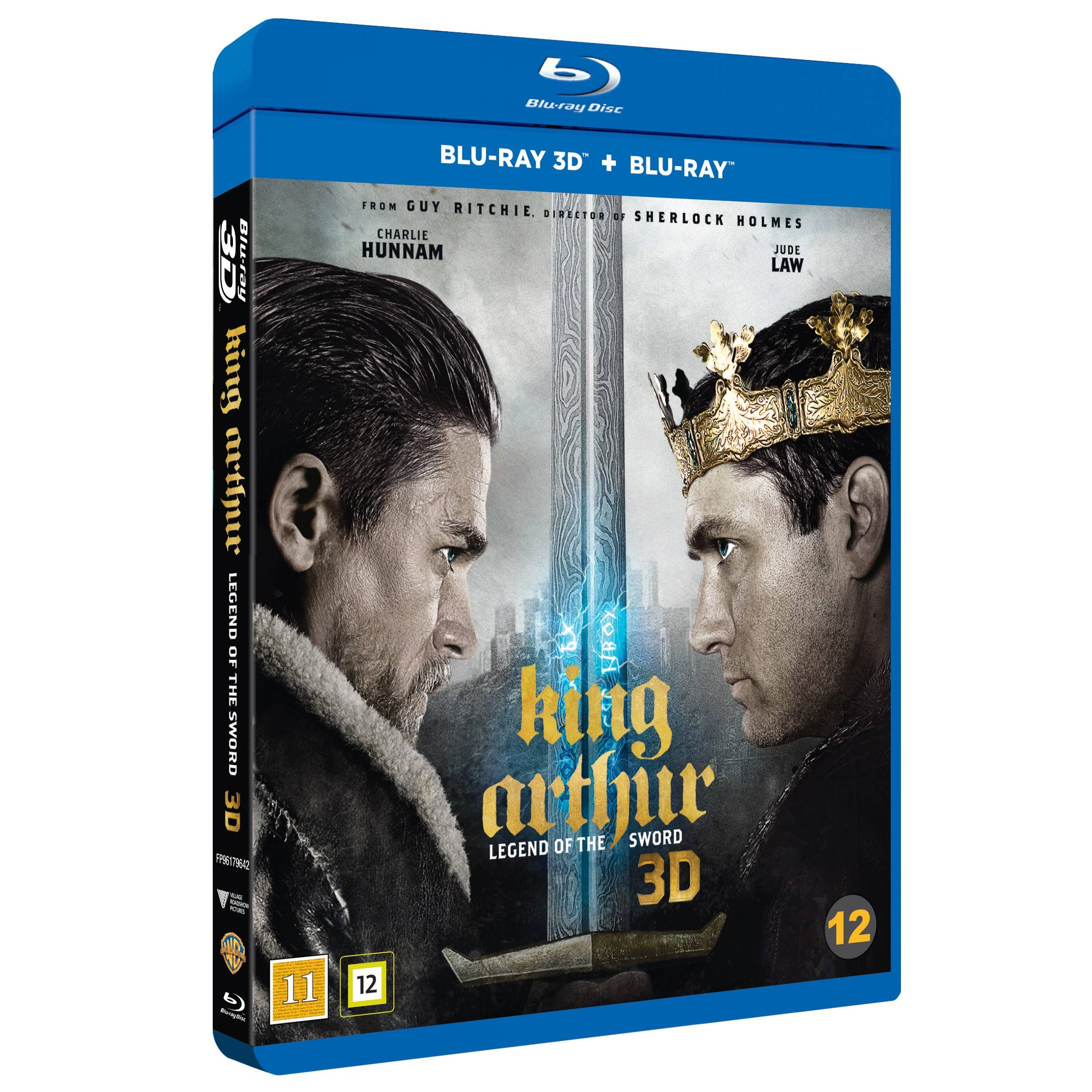 FOX King Arthur: Legend of the Sword (3D Blu-ray)