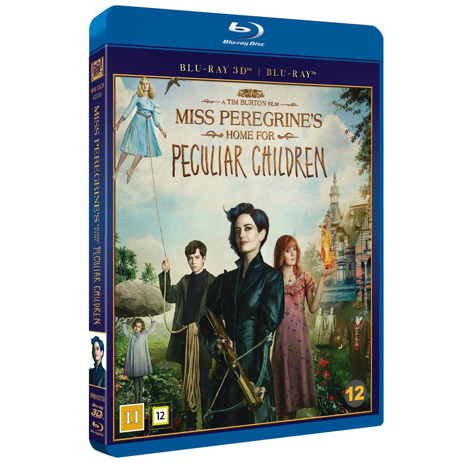 FOX Miss Peregrines Home for Peculiar Children (3D Blu-ray)