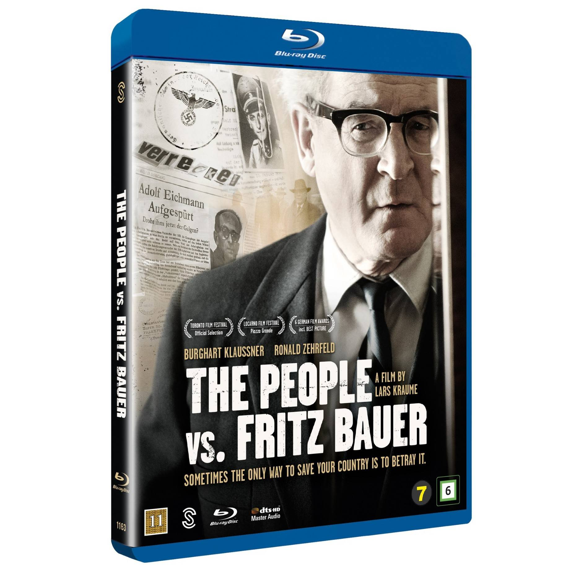 Scanbox The People vs. Fritz Bauer (Blu-ray)