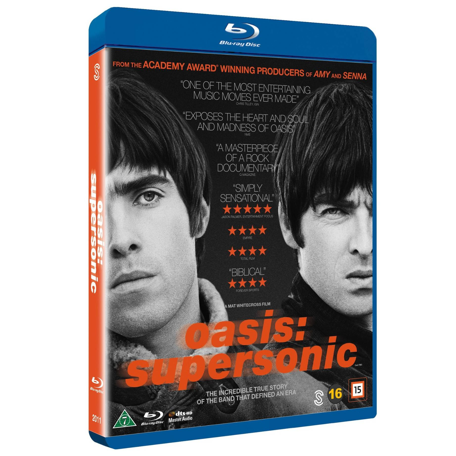 Scanbox Oasis: Supersonic (Blu-ray)