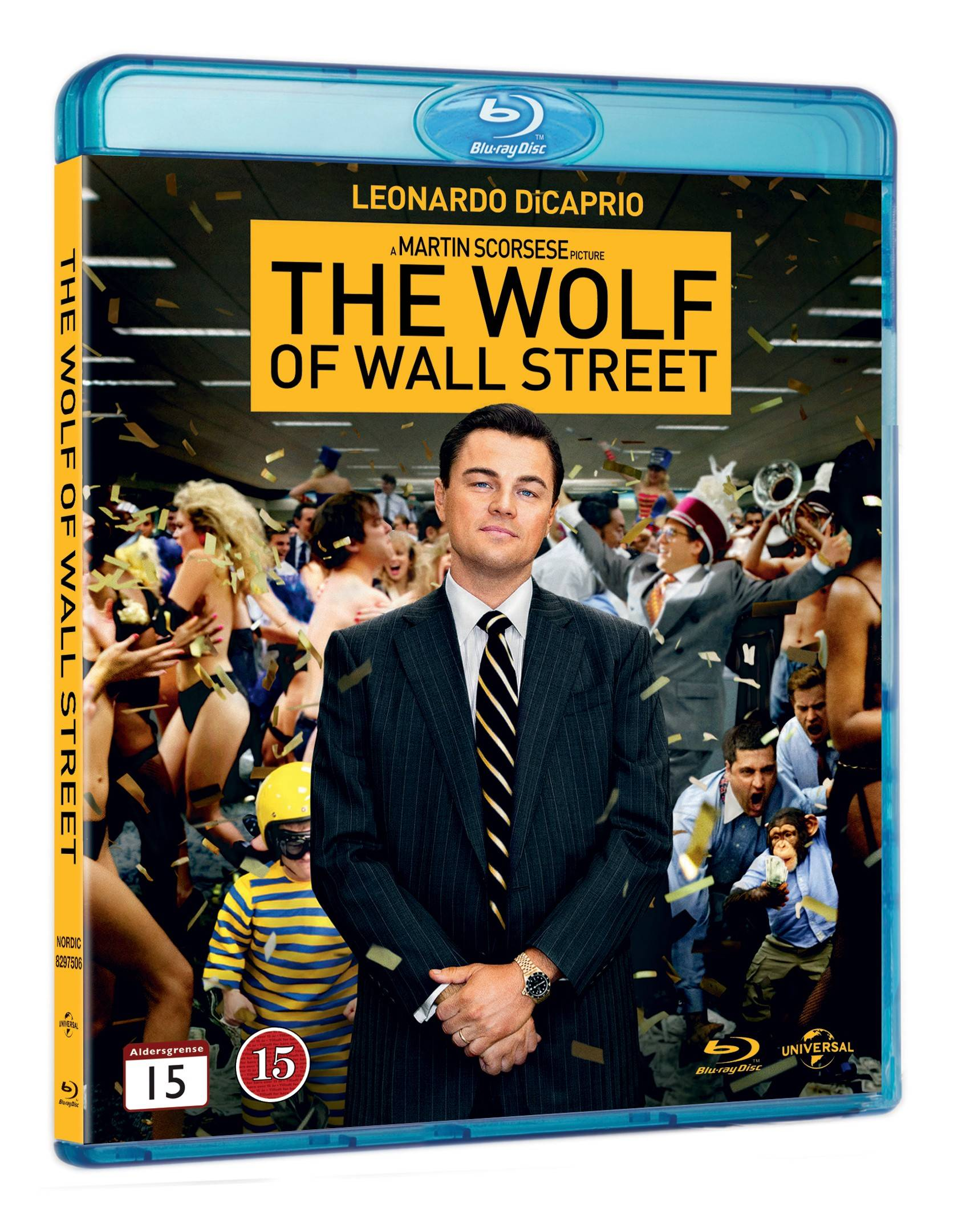 Sony The Wolf of Wall Street (Blu-ray)