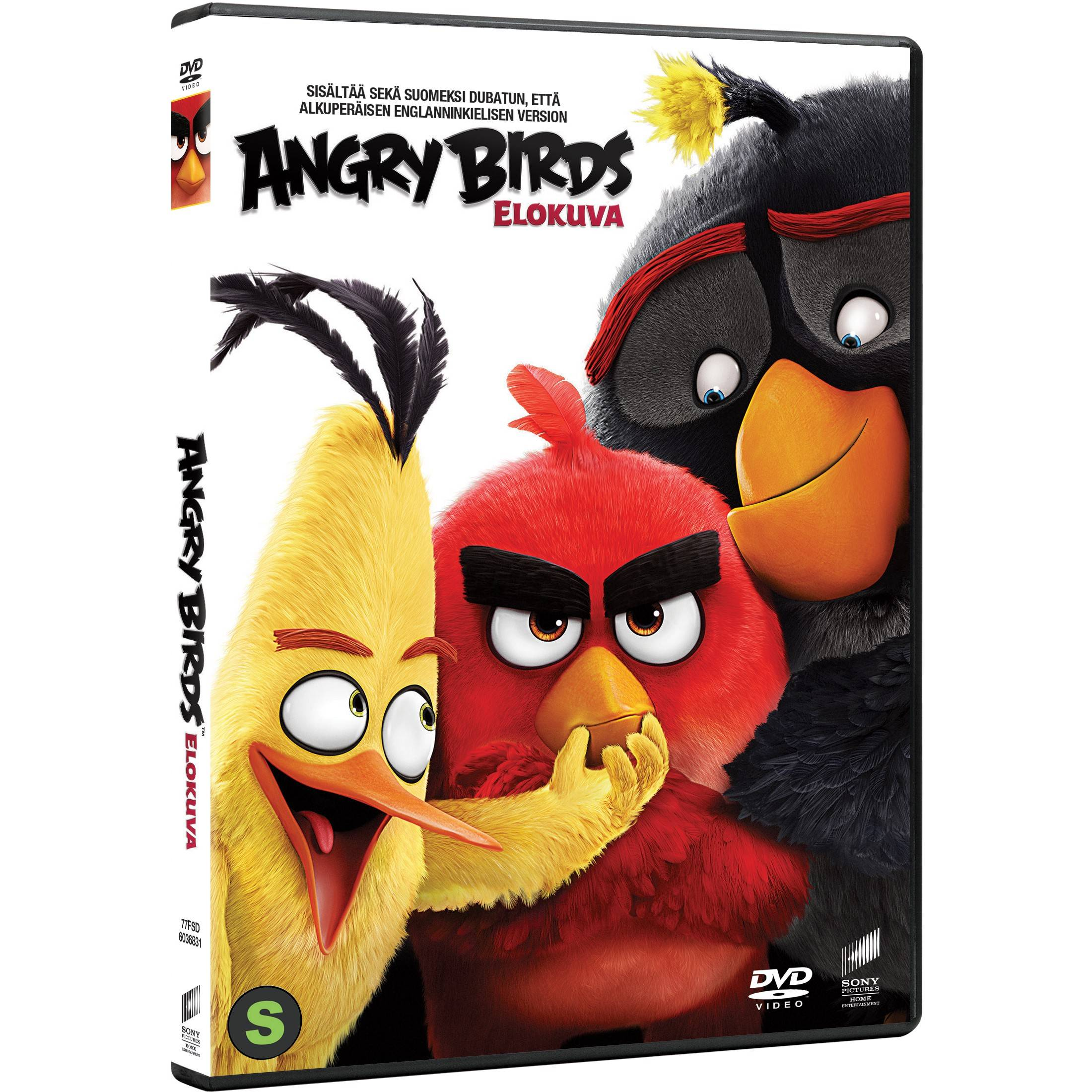 Sony The Angry Birds Movie (DVD)