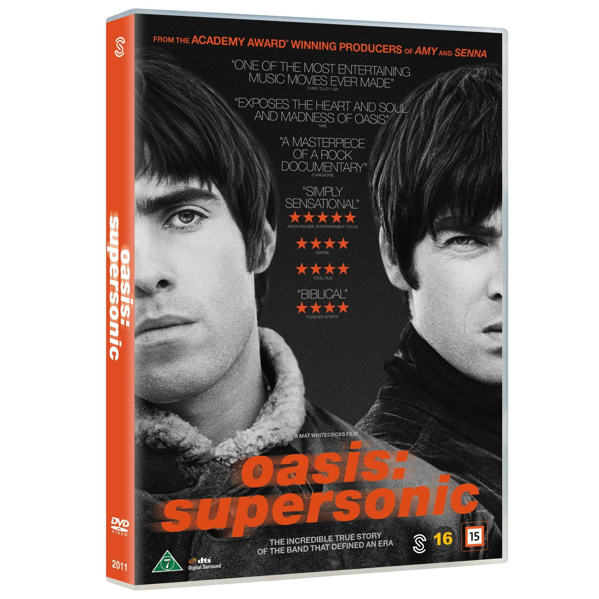 Scanbox Oasis: Supersonic (DVD)