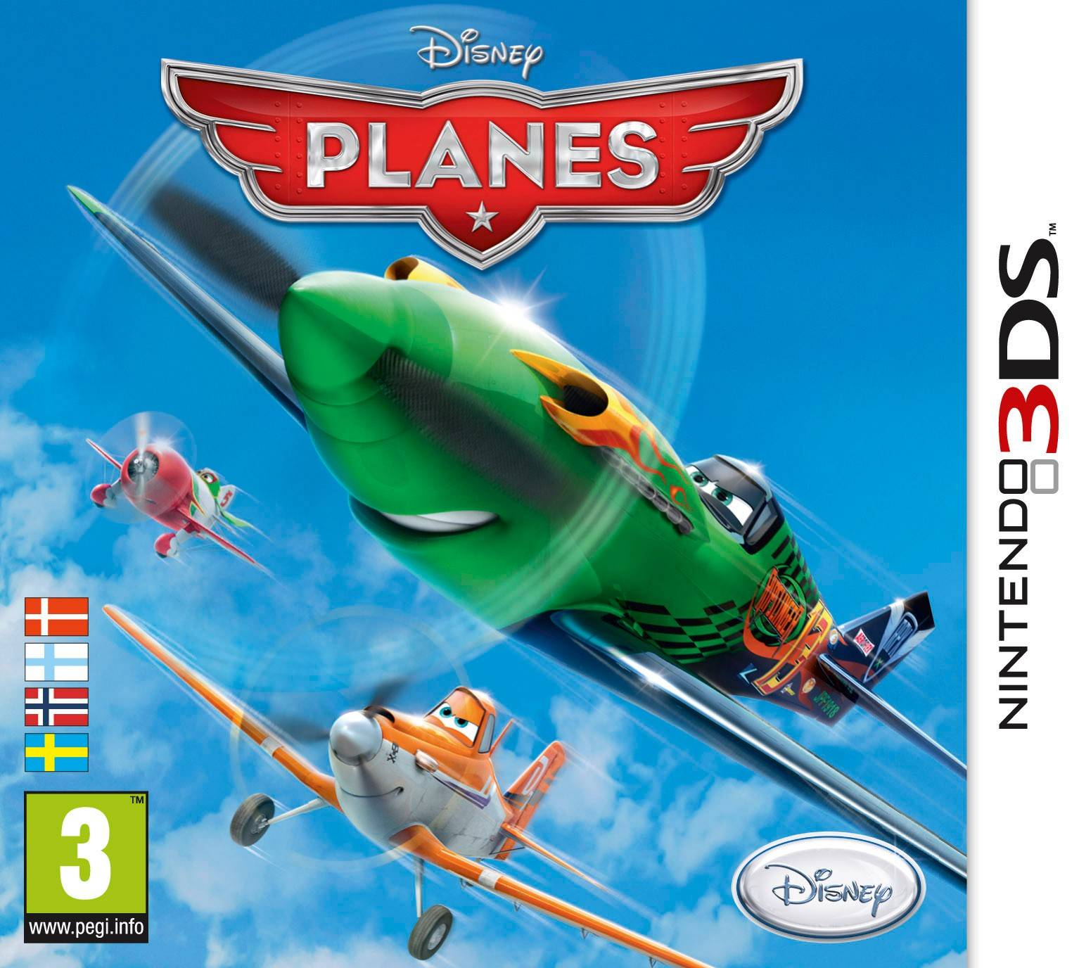 Disneys Planes: The Videogame (3DS)