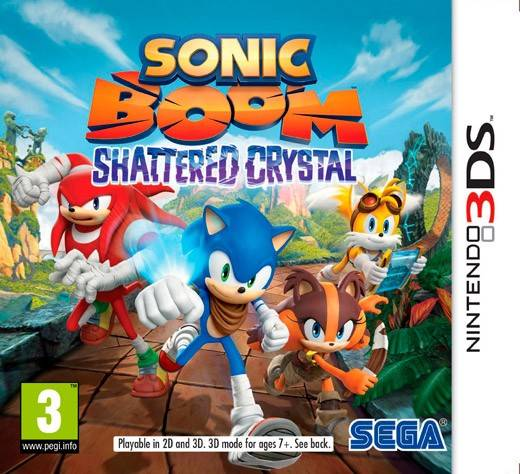 Nintendo Sonic Boom: Shattered Crystal (3DS)