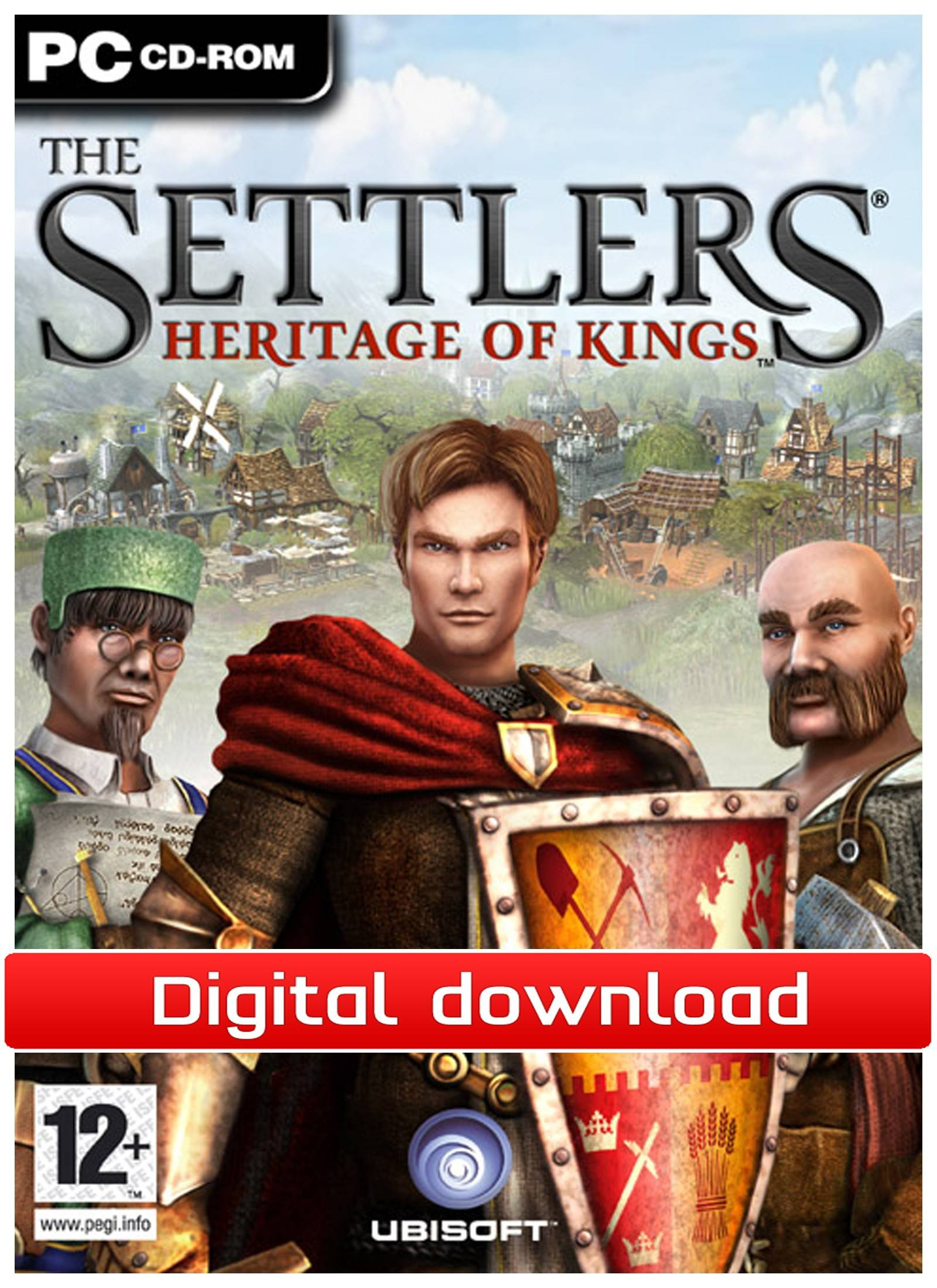 Electronic Arts The Settlers: Heritage of Kings (Download)