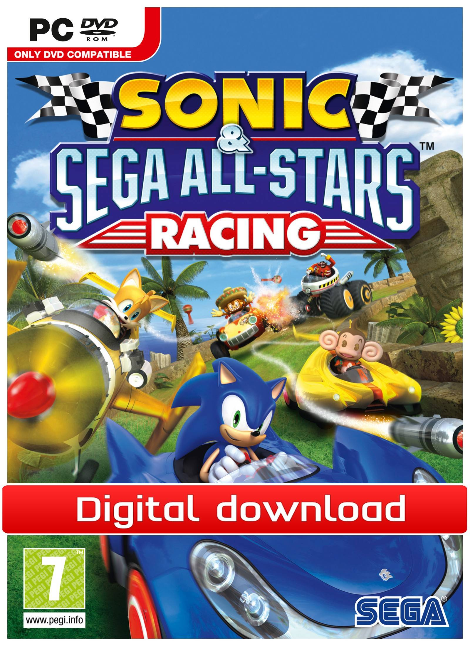 Electronic Arts Sonic & SEGA All-Stars Racing (Download)