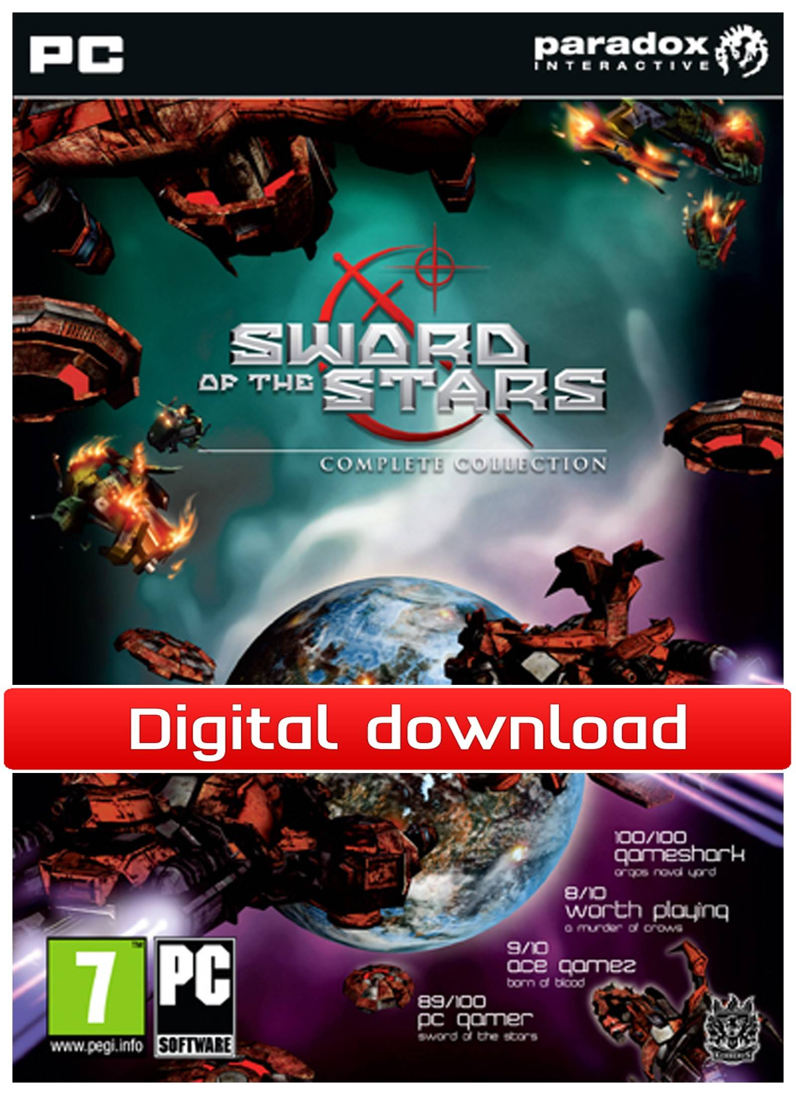 Paradox Sword of the Stars: Complete Collection (Download)