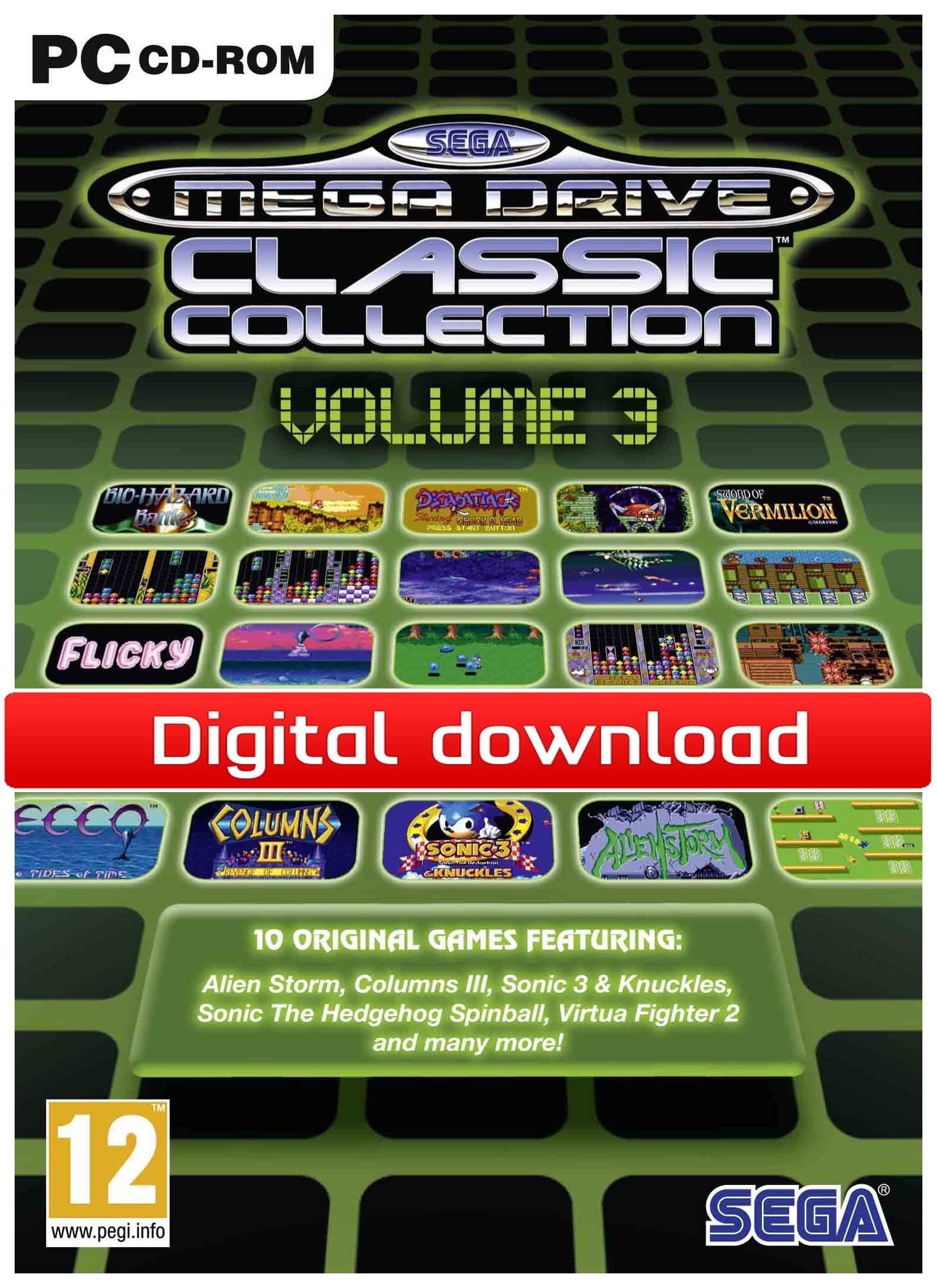 Electronic Arts SEGA Mega Drive Classic Collection: Volume 3 (Download)