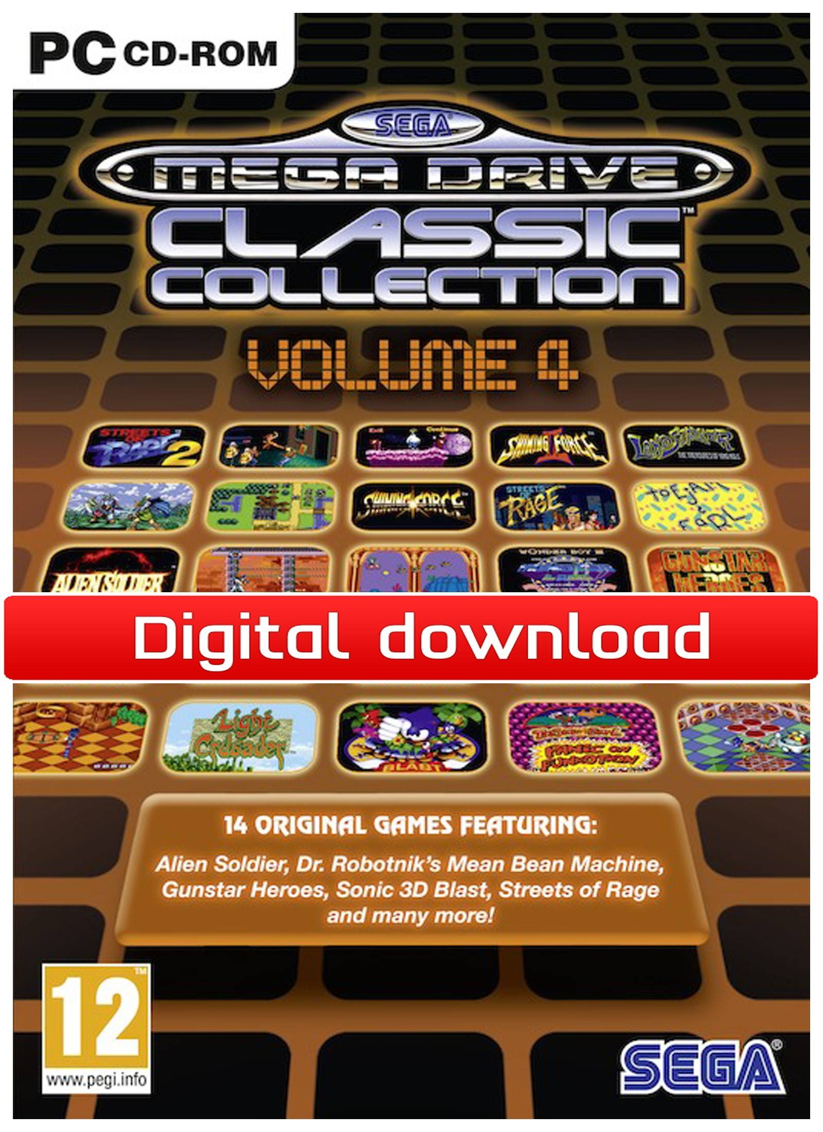 Electronic Arts SEGA Mega Drive Classic Collection: Volume 4 (Download)