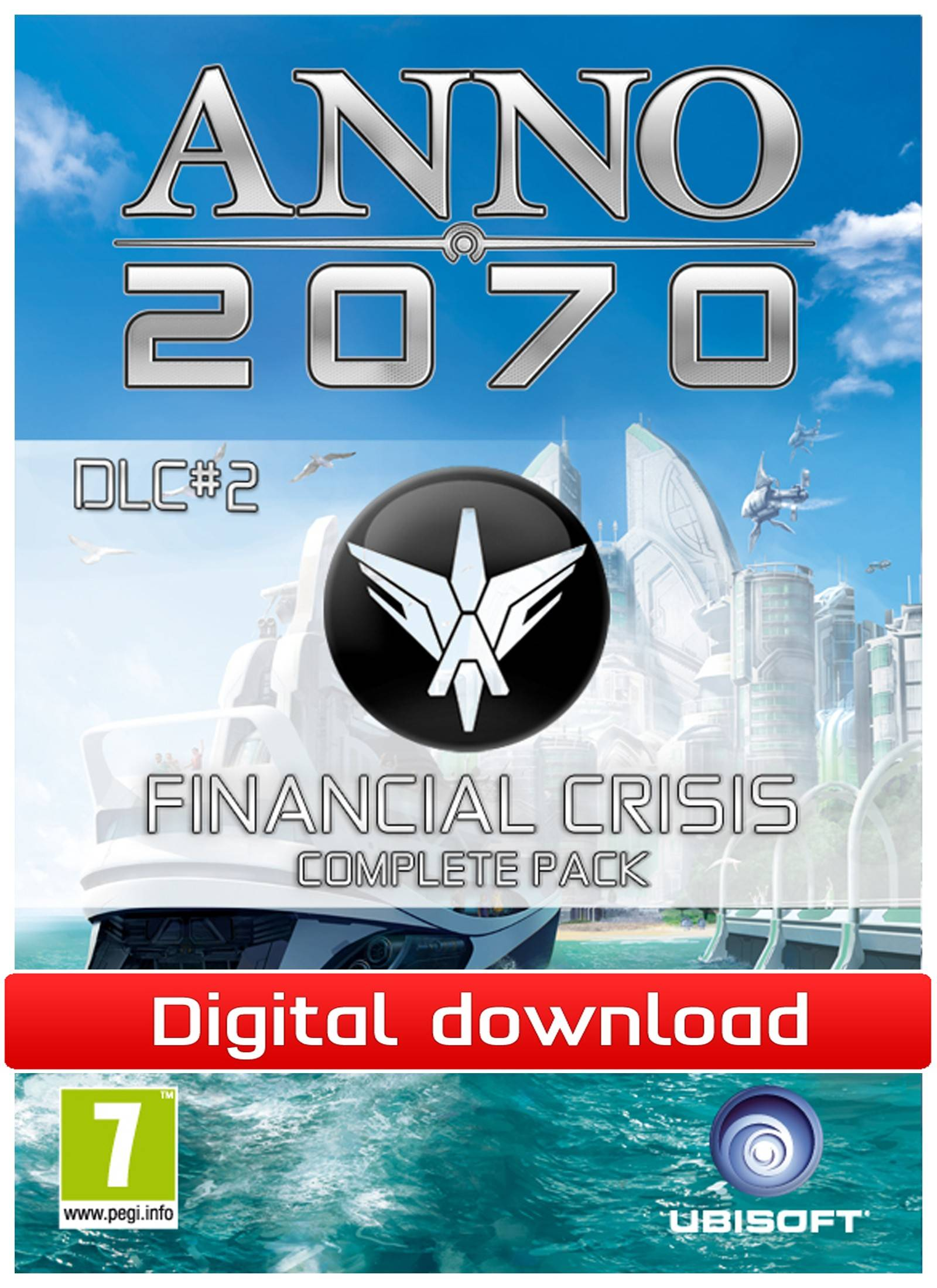 Electronic Arts Anno 2070: Financial Crisis complete pack DLC(Download)