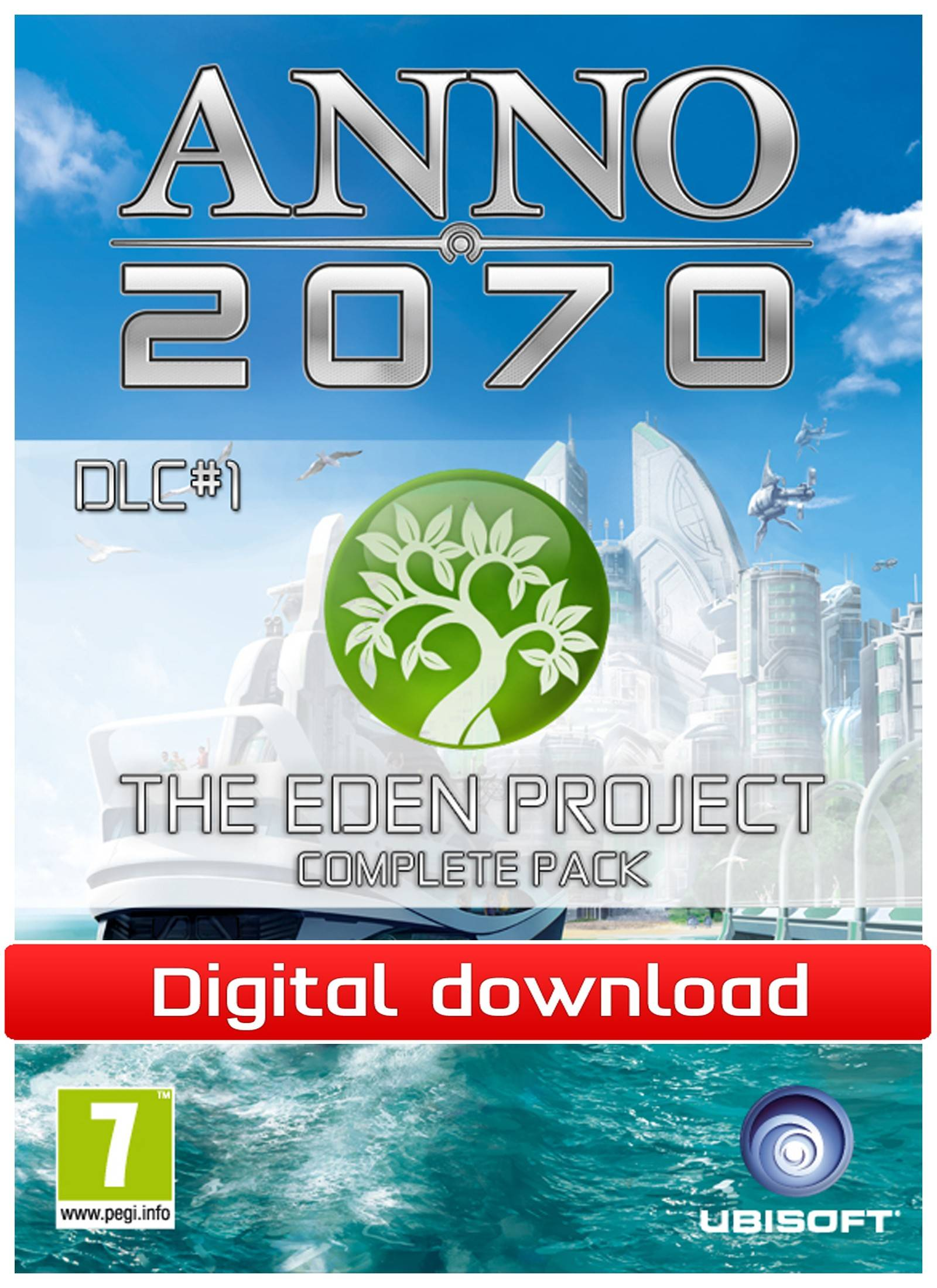 Electronic Arts Anno 2070: The Eden Project Complete Pack DLC(Download)
