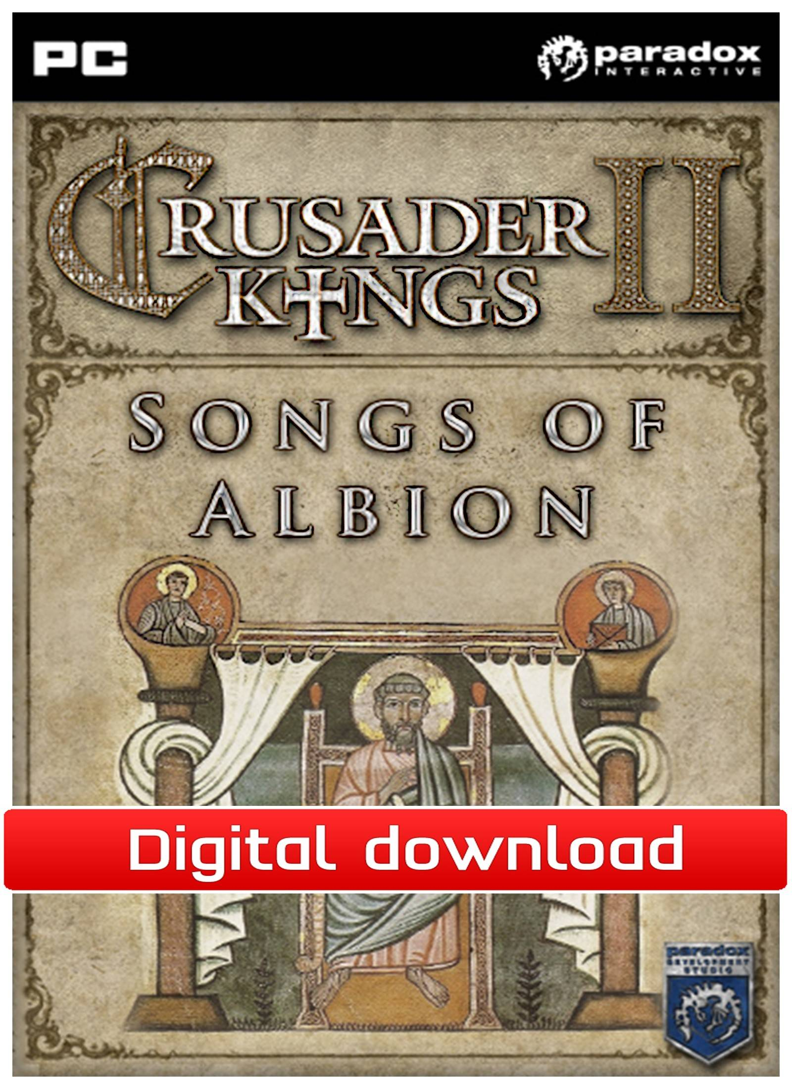 Paradox Crusader Kings 2: DLC Songs of Albion (Download)