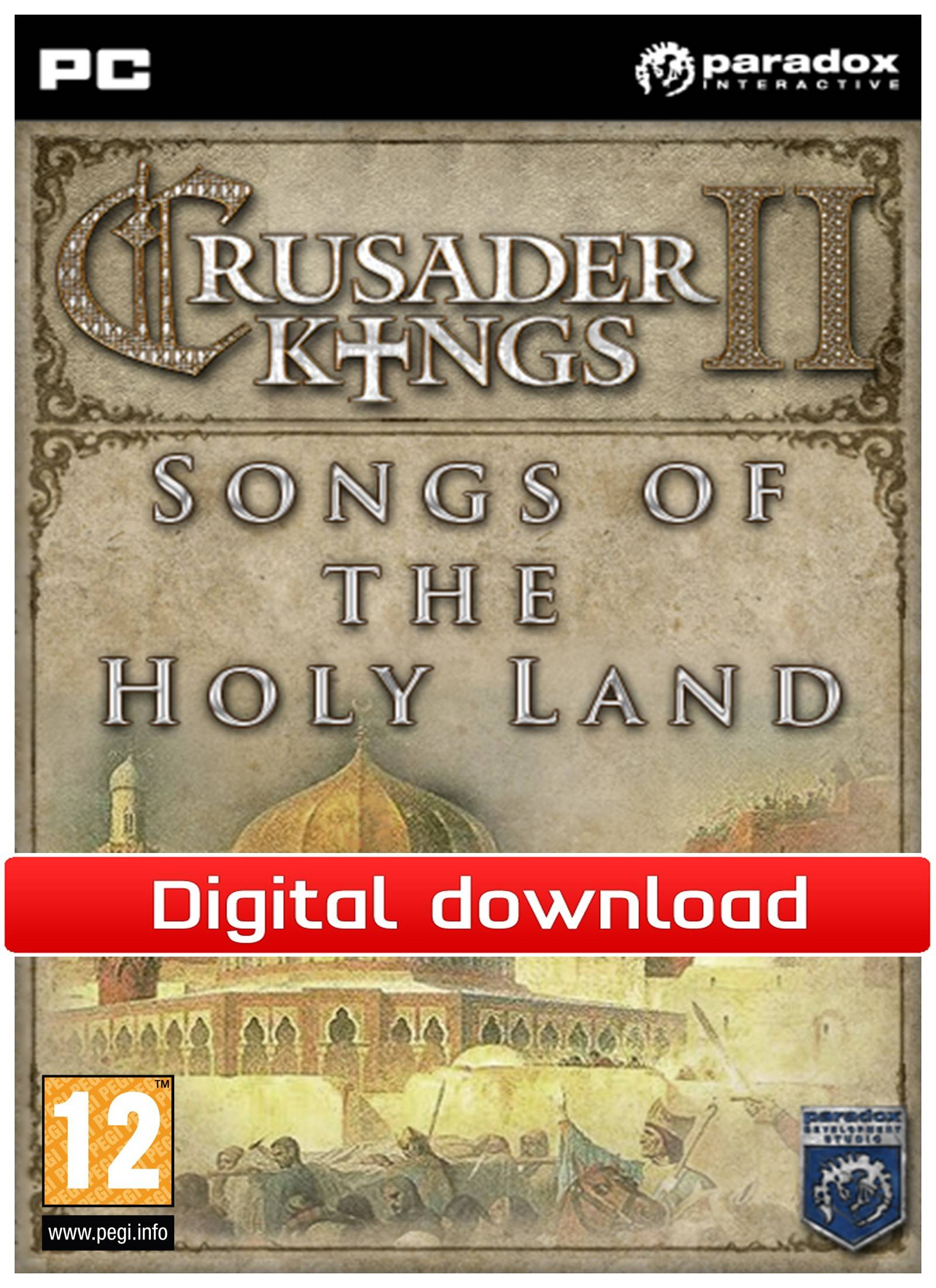 Paradox Crusader Kings 2: DLC Songs of the Holy Land (Download)