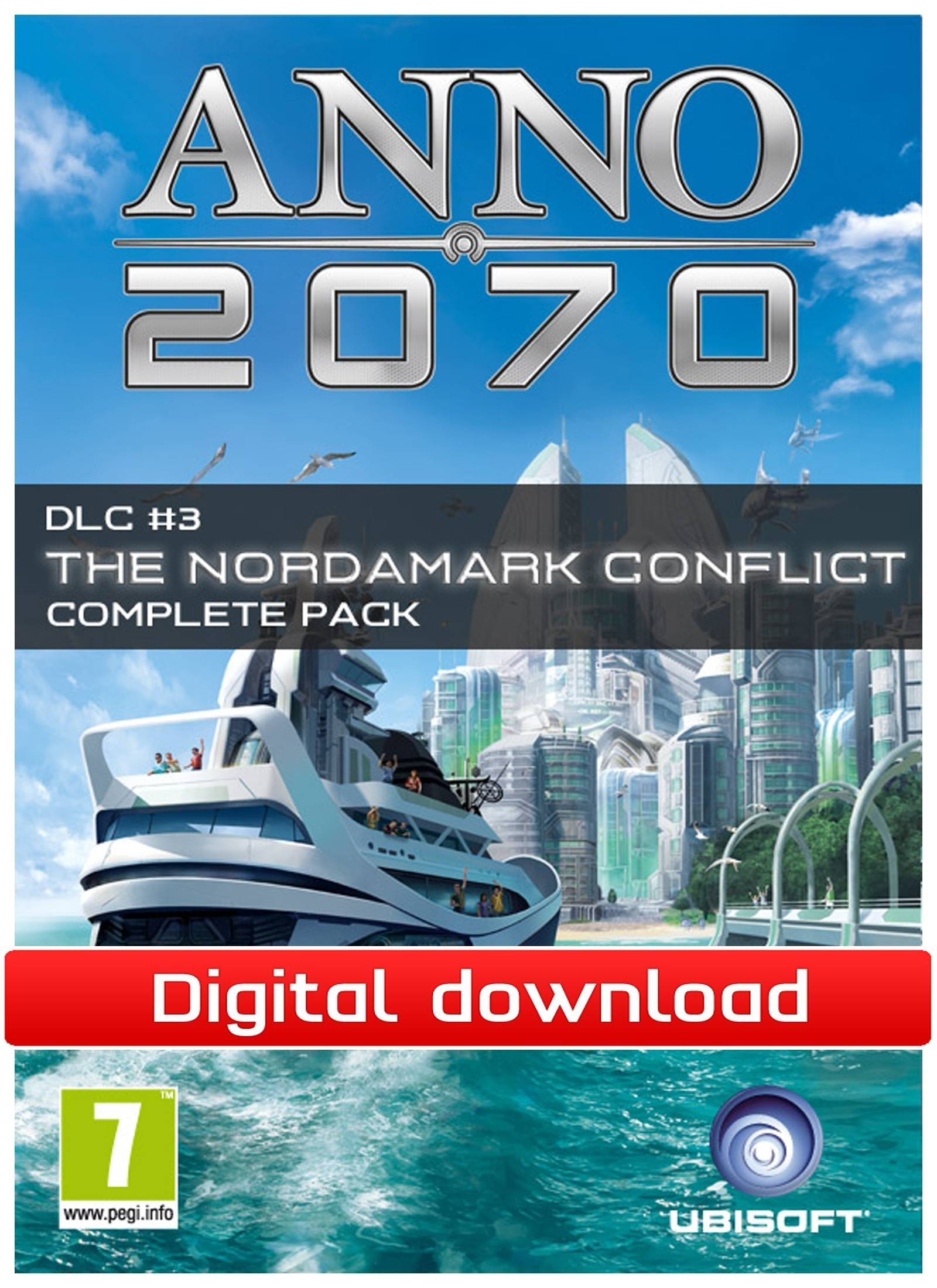 Electronic Arts ANNO 2070:The Nordamak Conflict Complete DLC (Download)