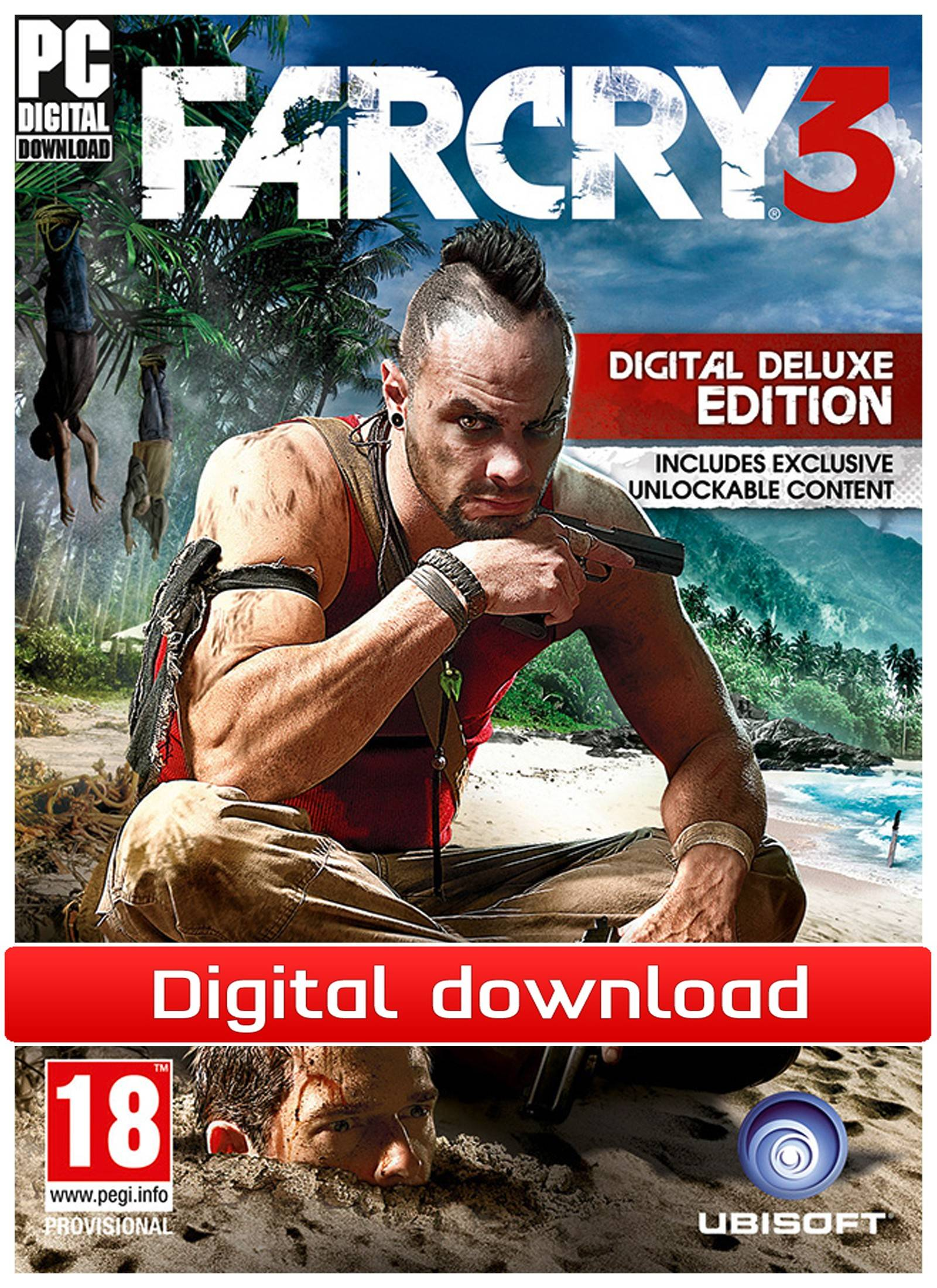 Ubisoft Far Cry 3: Deluxe edition (Download)