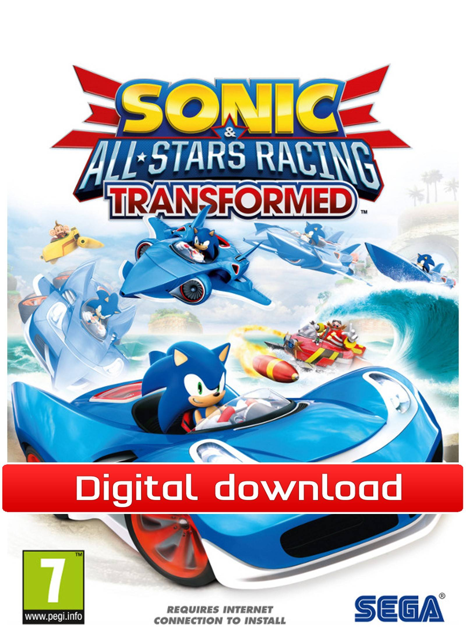 Electronic Arts Sonic and SEGA All-Stars Racing Transformed (Download)