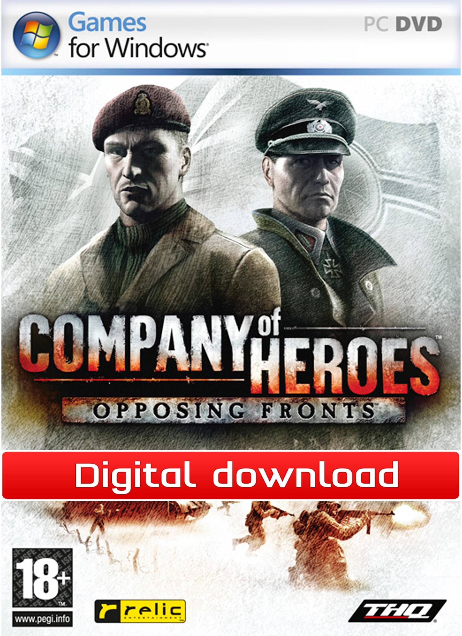 Sega Company of Heroes : Opposing Fronts (Download)