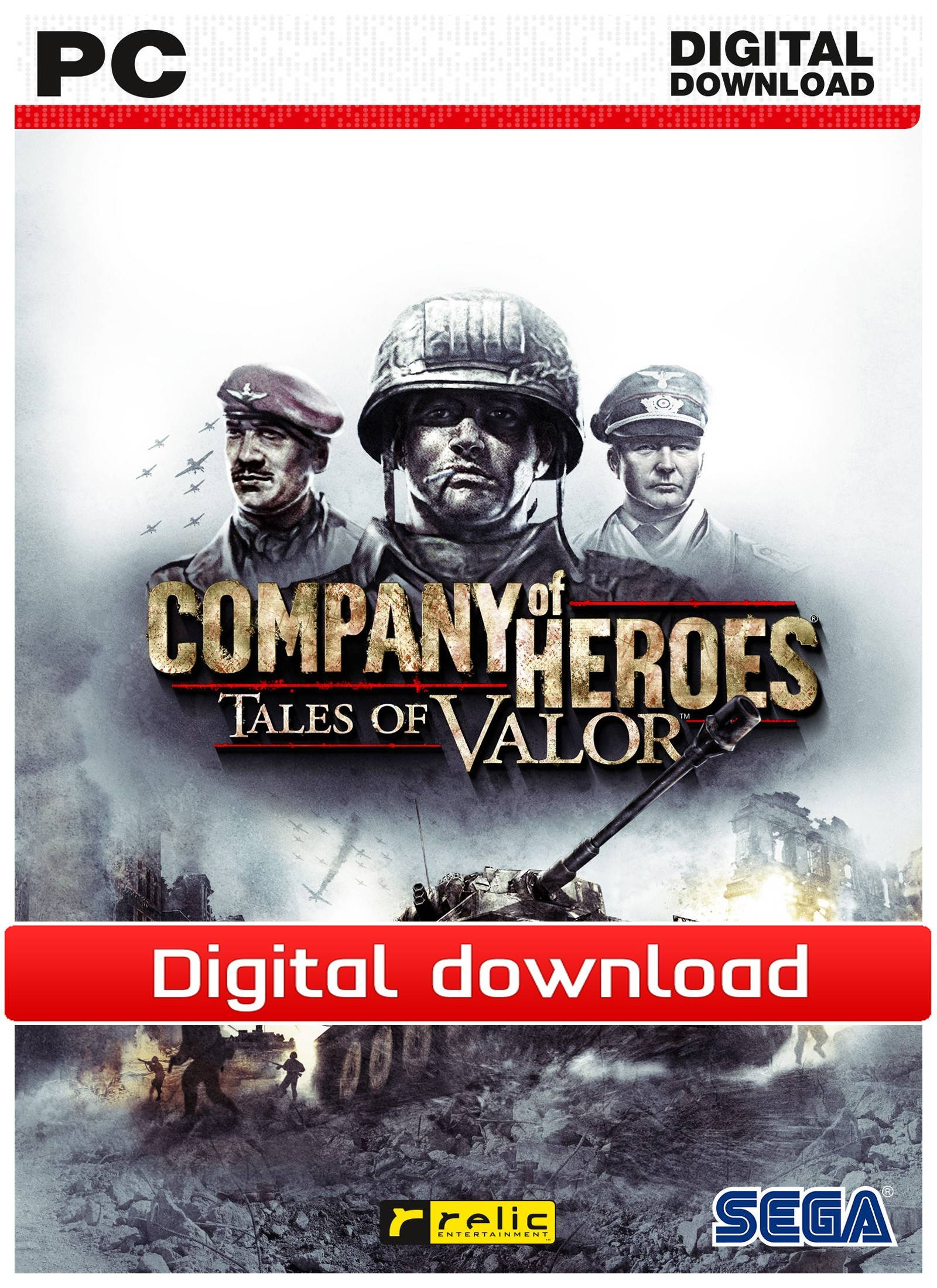 Sega Company of Heroes: Tales of Valor (Download)