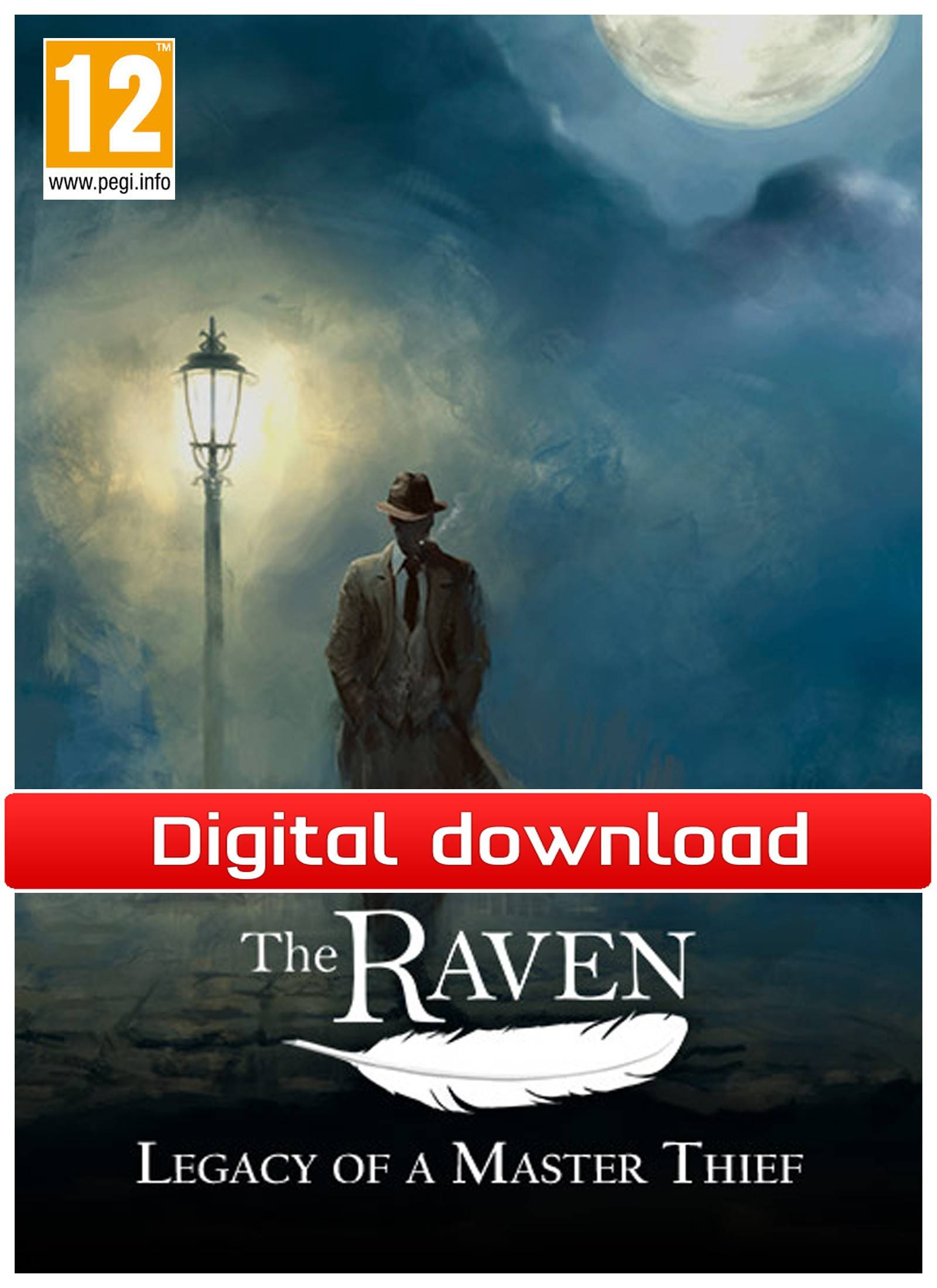 Nordic Games GmbH The Raven: Legacy of a Master Thief (Download)