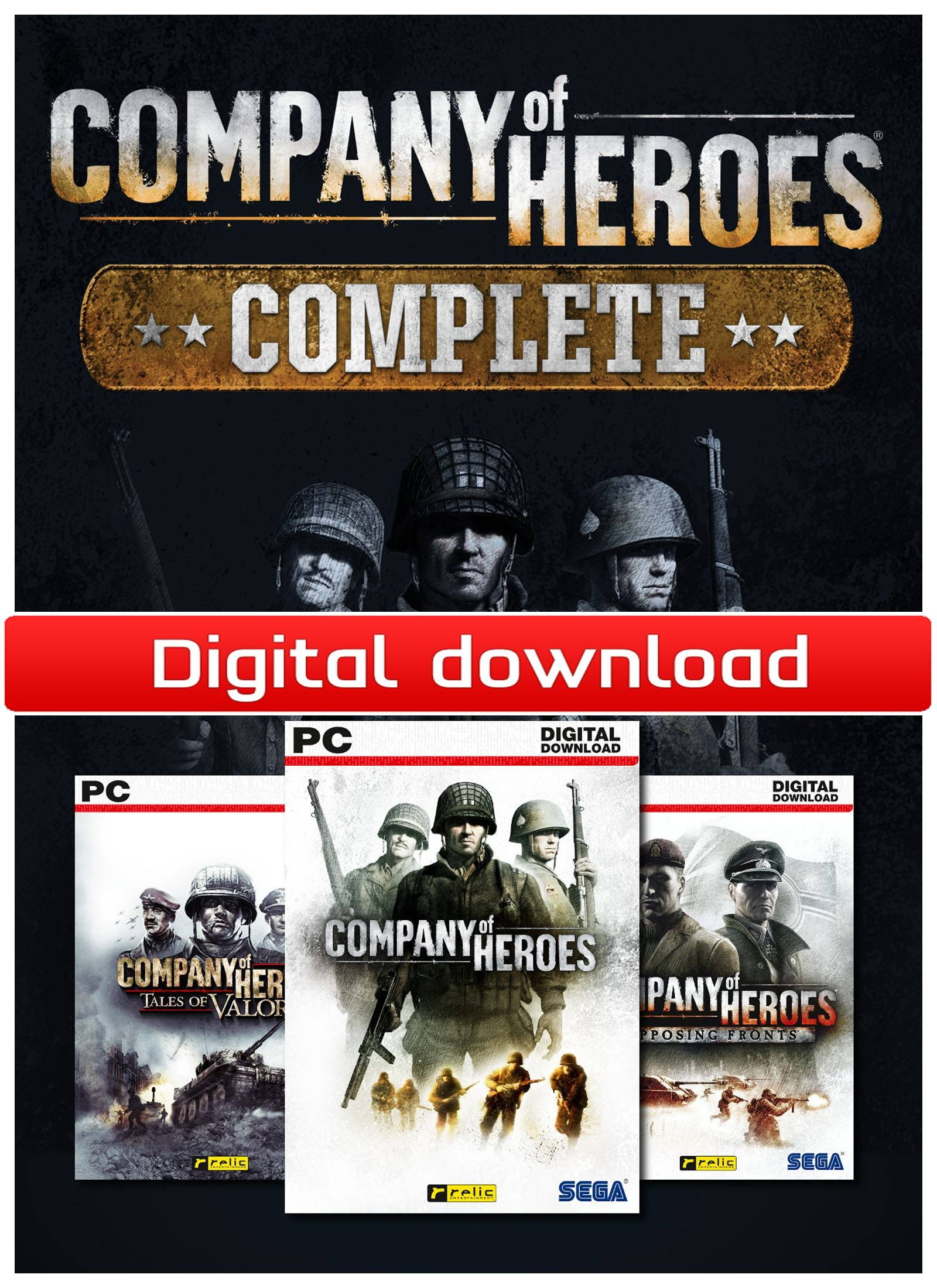 Sega Company of Heroes: Complete Pack (Download)