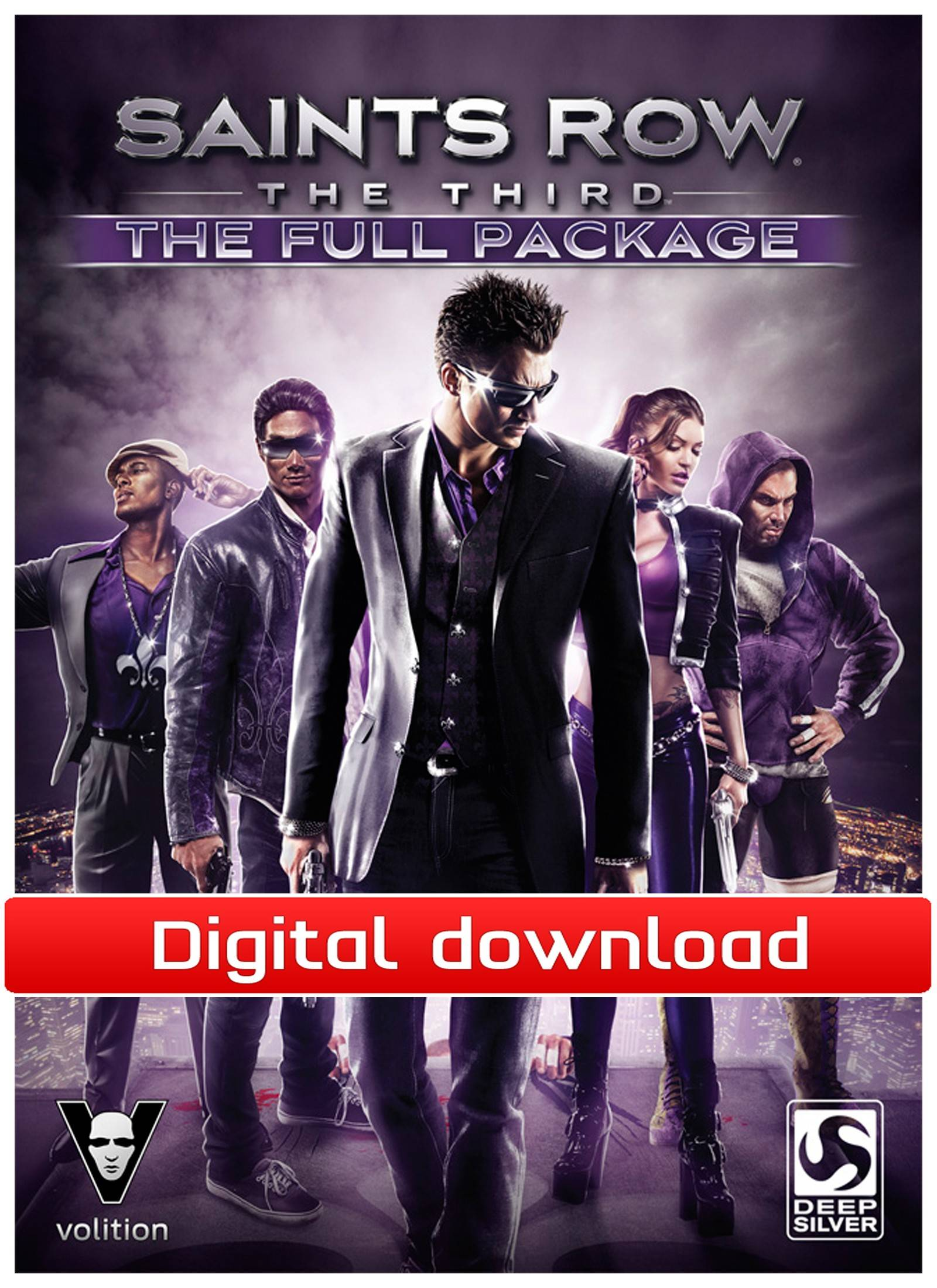 Electronic Arts Saints Row: The Third – The Full Package (Download)