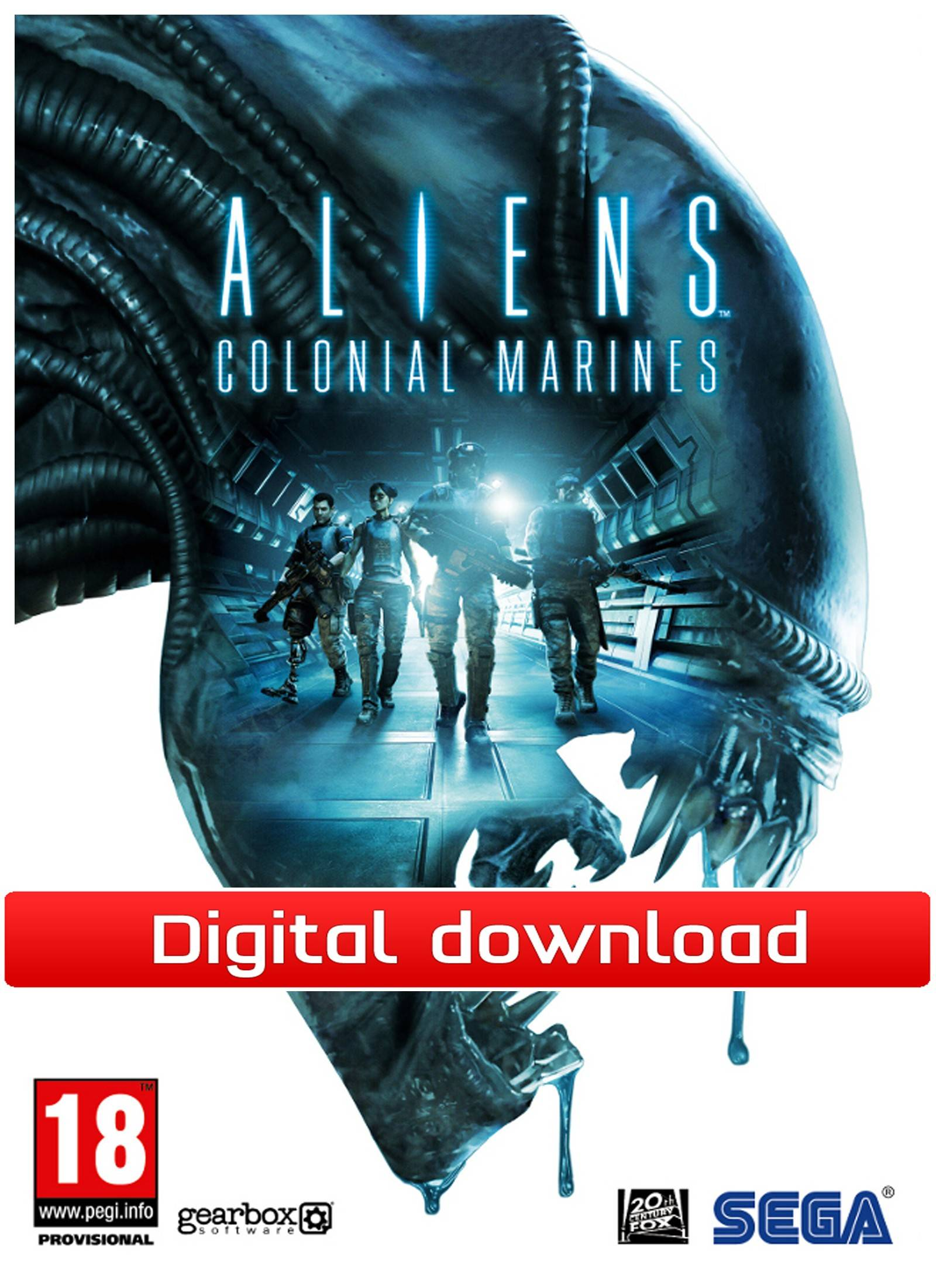 Sega Aliens:Colonial Marines Stasis Interrupted DLC(Download