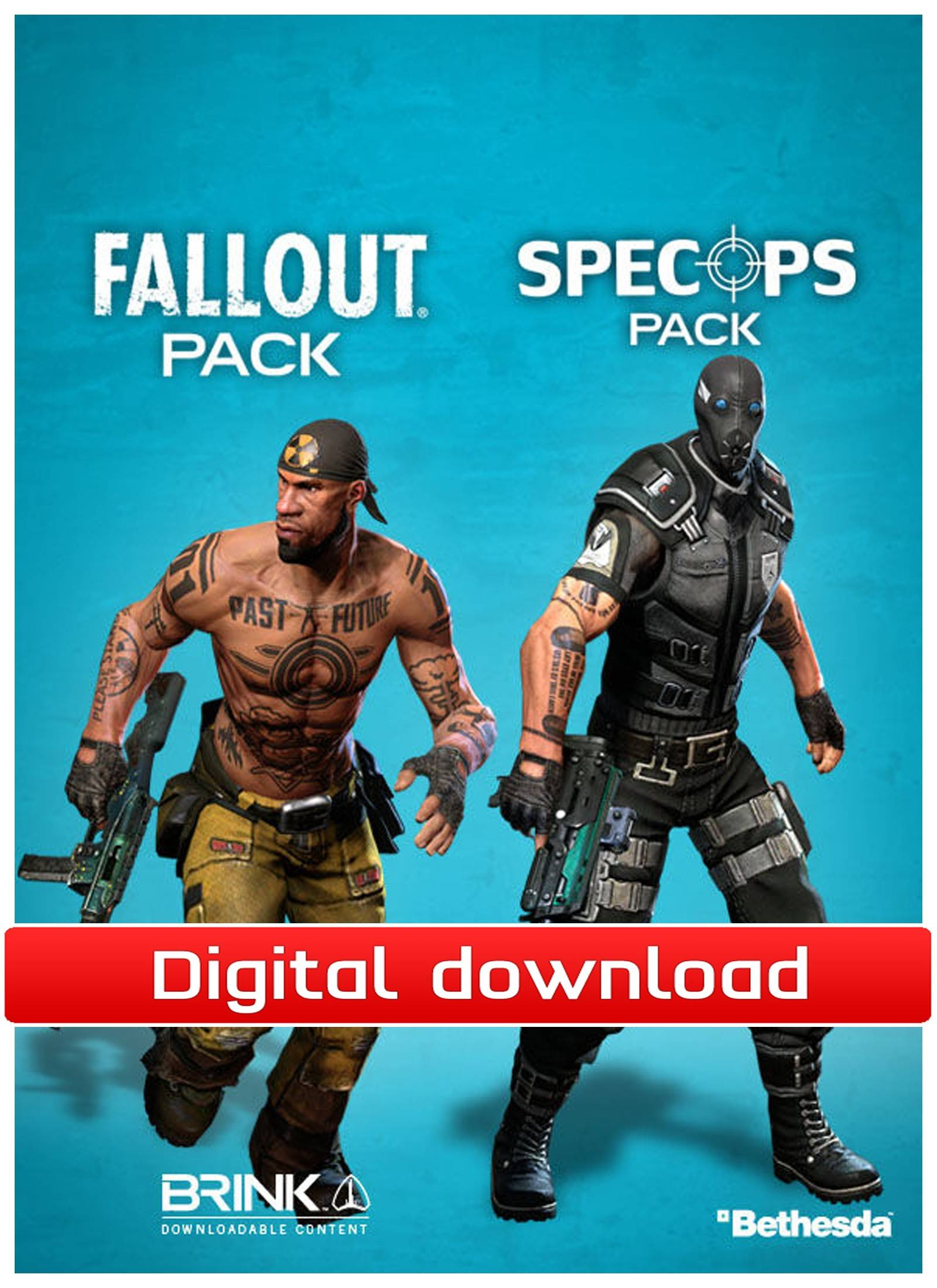 Bethesda Softworks Brink: Fallout/Spec Ops Combo Pack (Download)