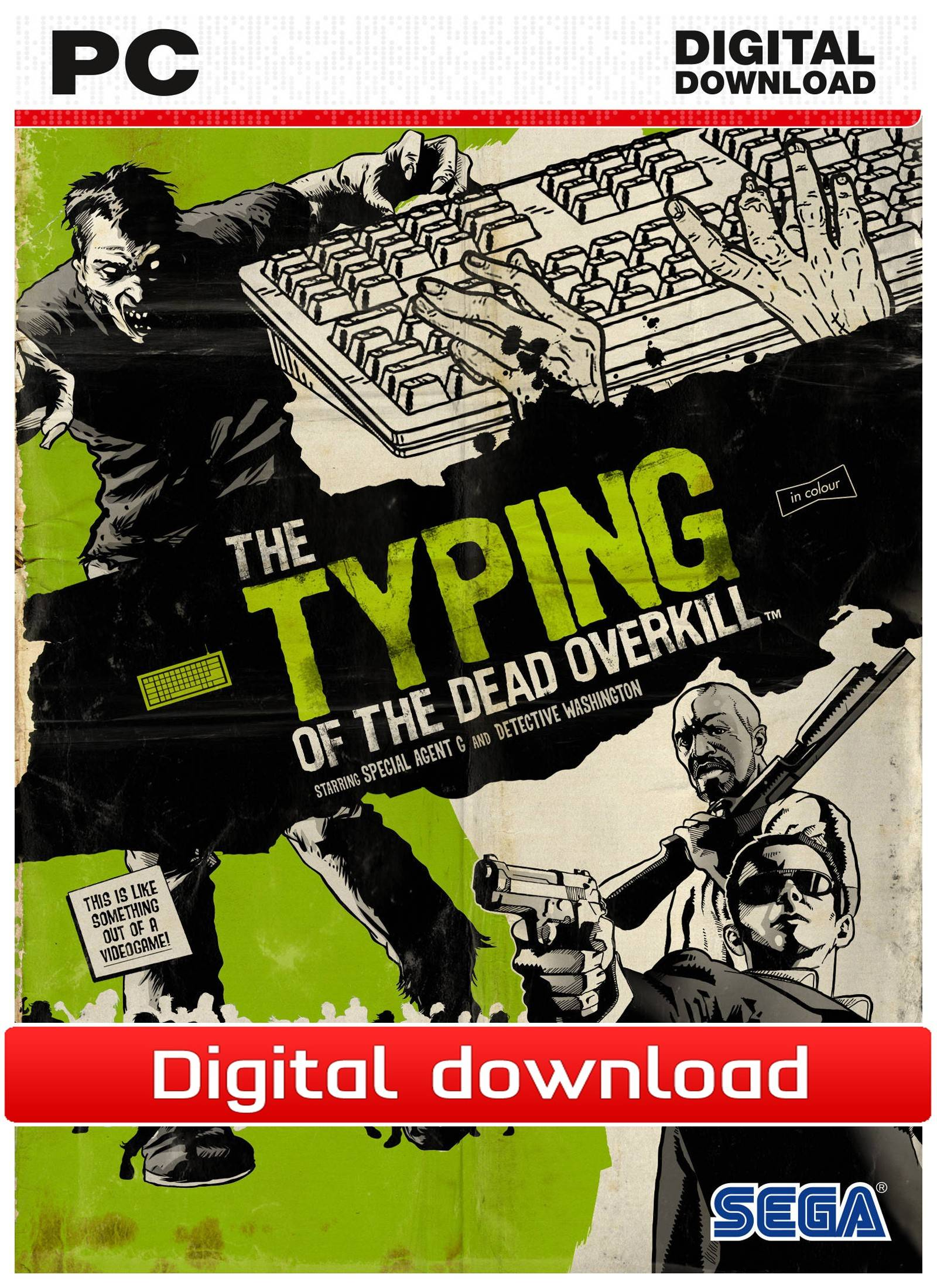 Sega Typing of the Dead: Overkill (Download)